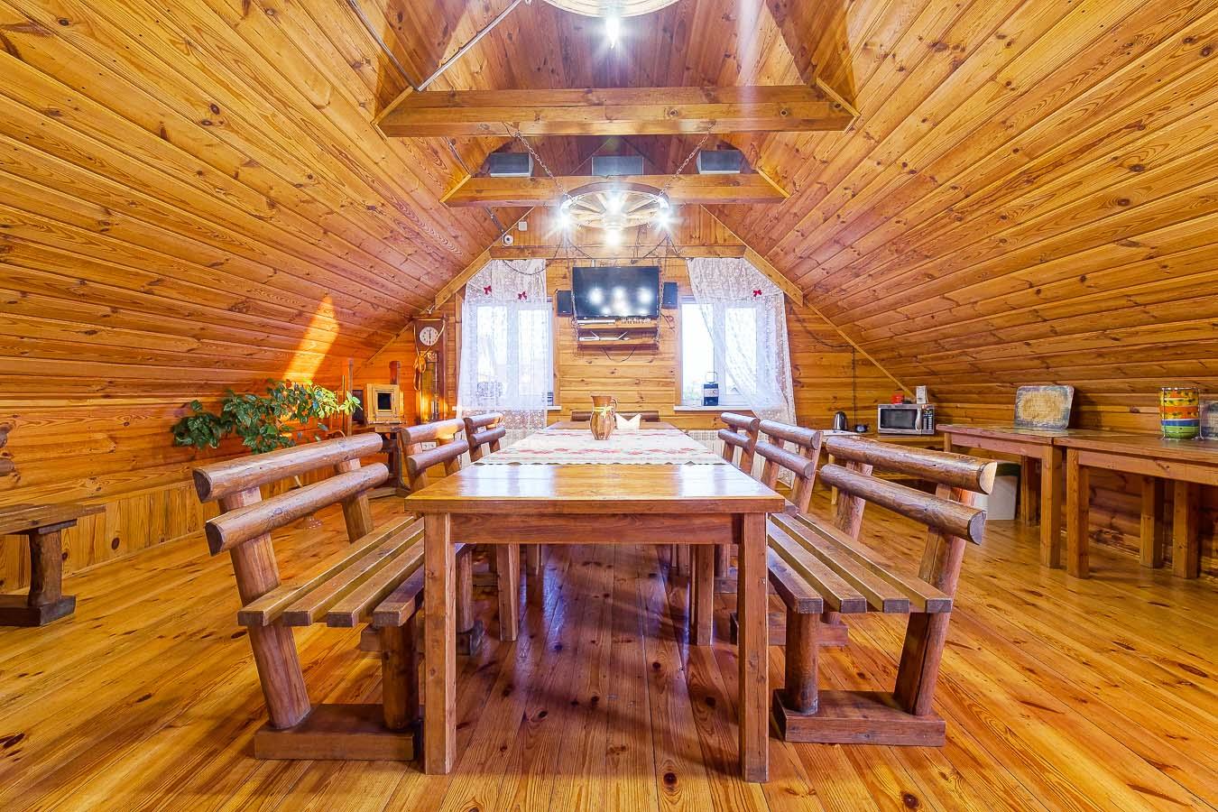 1 4 3 - Уютный дом с баней и беседкой возле Минска