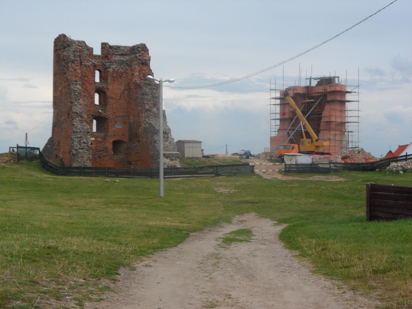 Каменецкая башня - реконструкция
