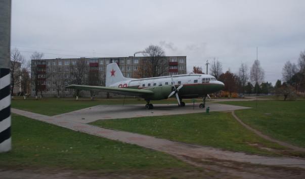 """1222101 603x354 - Памятник-самолет """"Ил-14Т"""" в Бегомле"""
