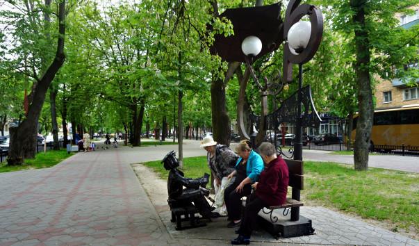 1576717 603x354 3 - Аллея кованых фонарей в Бресте