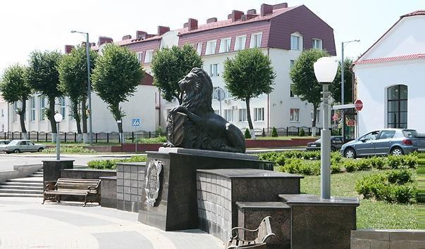 """174368 603x354 2 - Скульптура """"Лев – страж города"""" в Несвиже"""