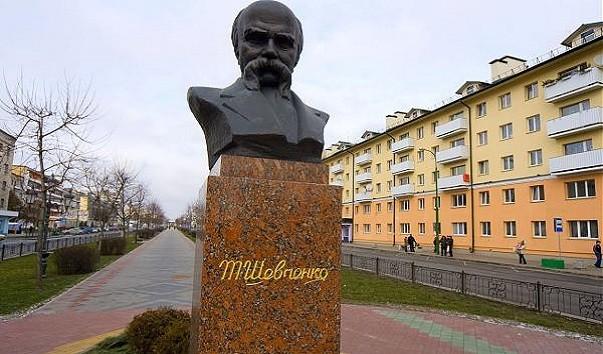 185961 603x354 2 - Памятник Т. Г. Шевченко в Бресте