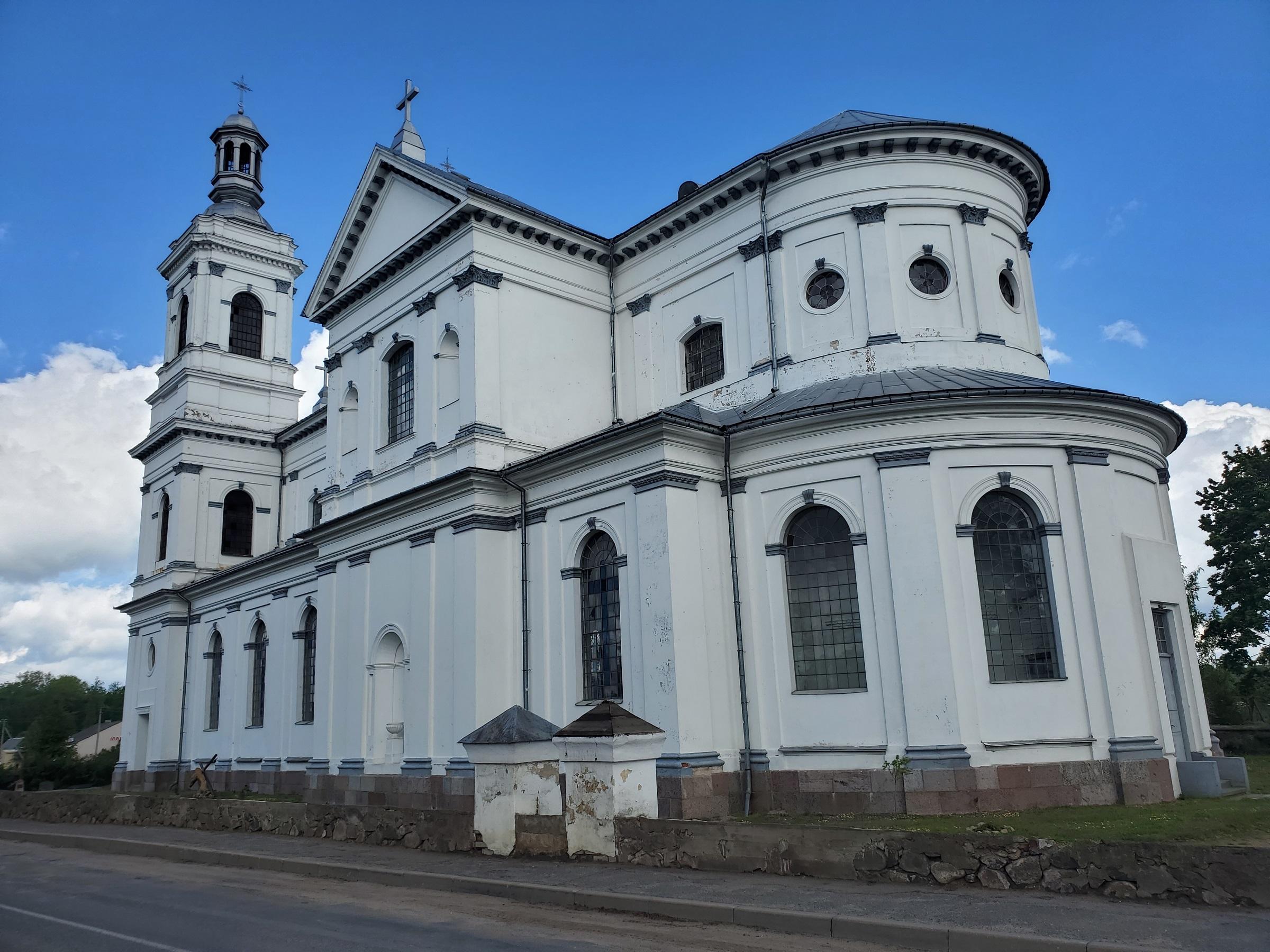 20200606 110440 - Костел Святого Андрея Баболи в Лынтупах