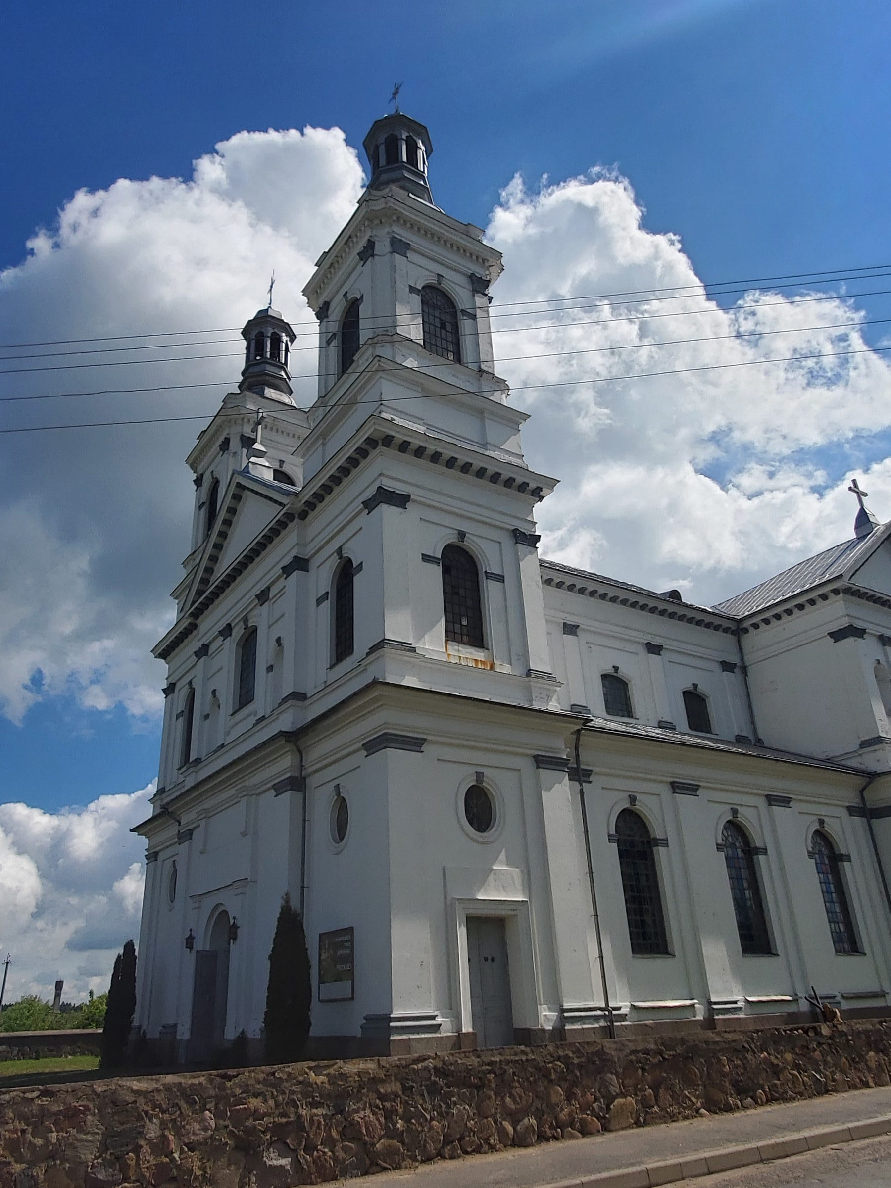 20200606 110710 rotated e1605867498869 - Костел Святого Андрея Баболи в Лынтупах