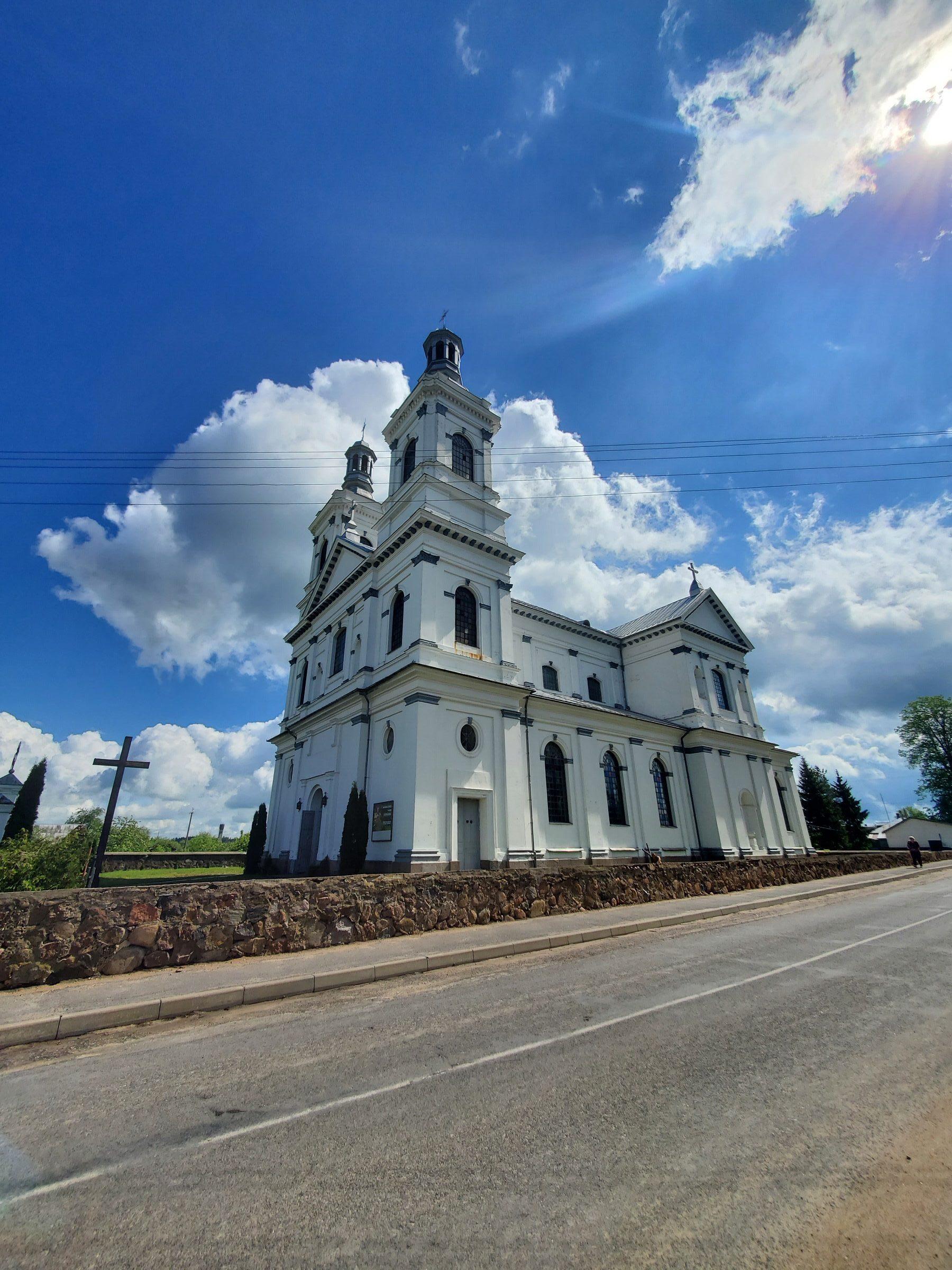 20200606 110719 rotated e1605867633621 - Костел Святой Троицы в деревне Дуниловичи