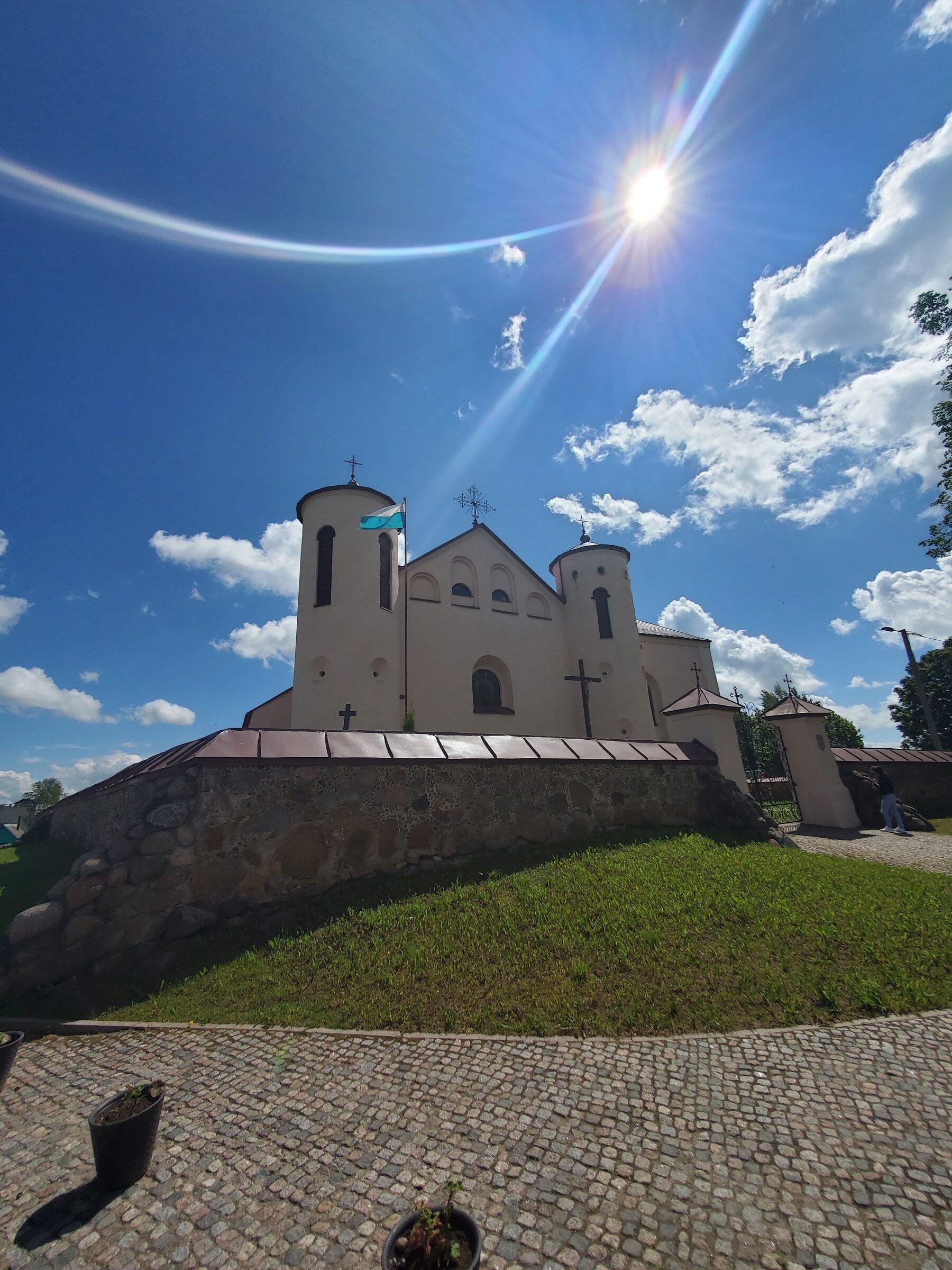 20200606 115625 2 rotated - Костел Св. Иоанна Крестителя в агрогородке Камаи