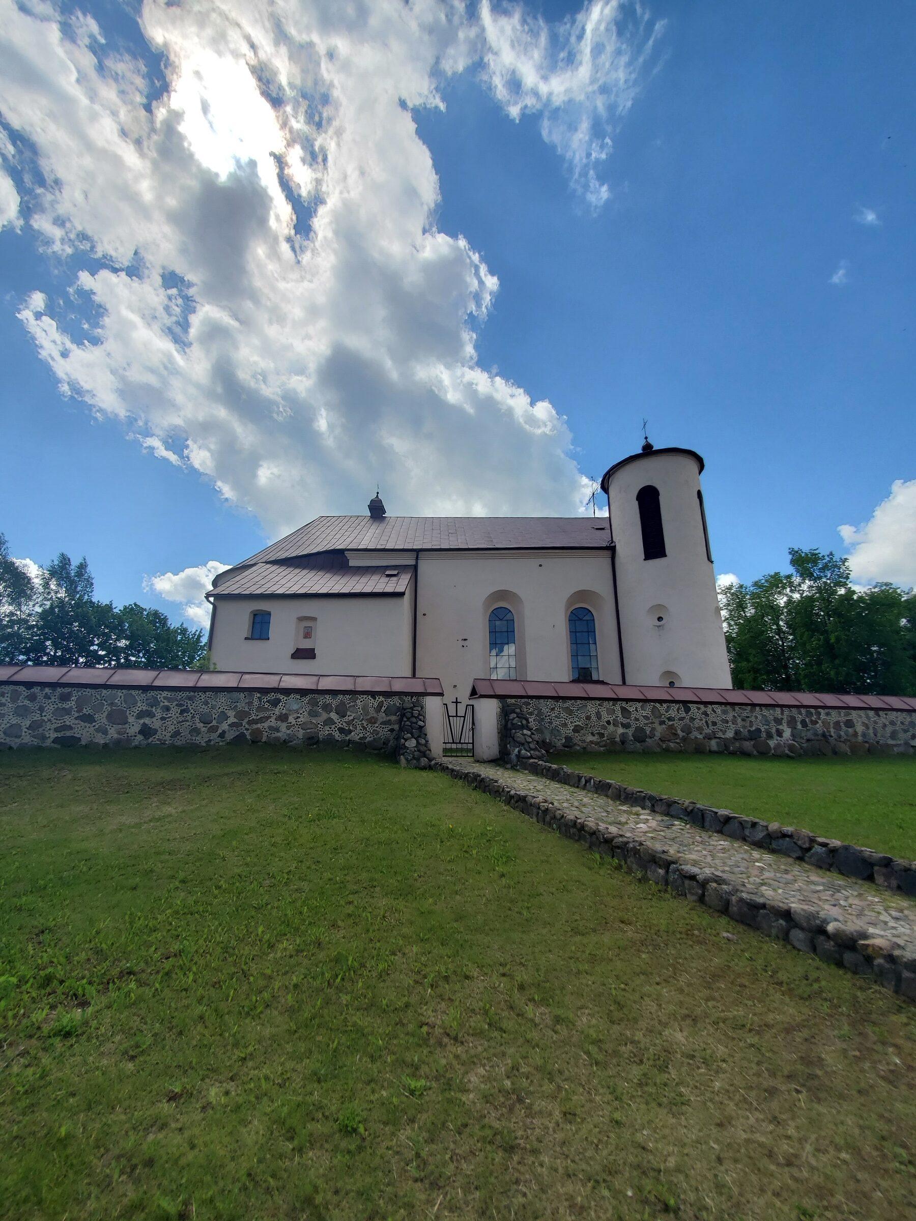 20200606 115745 rotated - Костел Св. Иоанна Крестителя в агрогородке Камаи