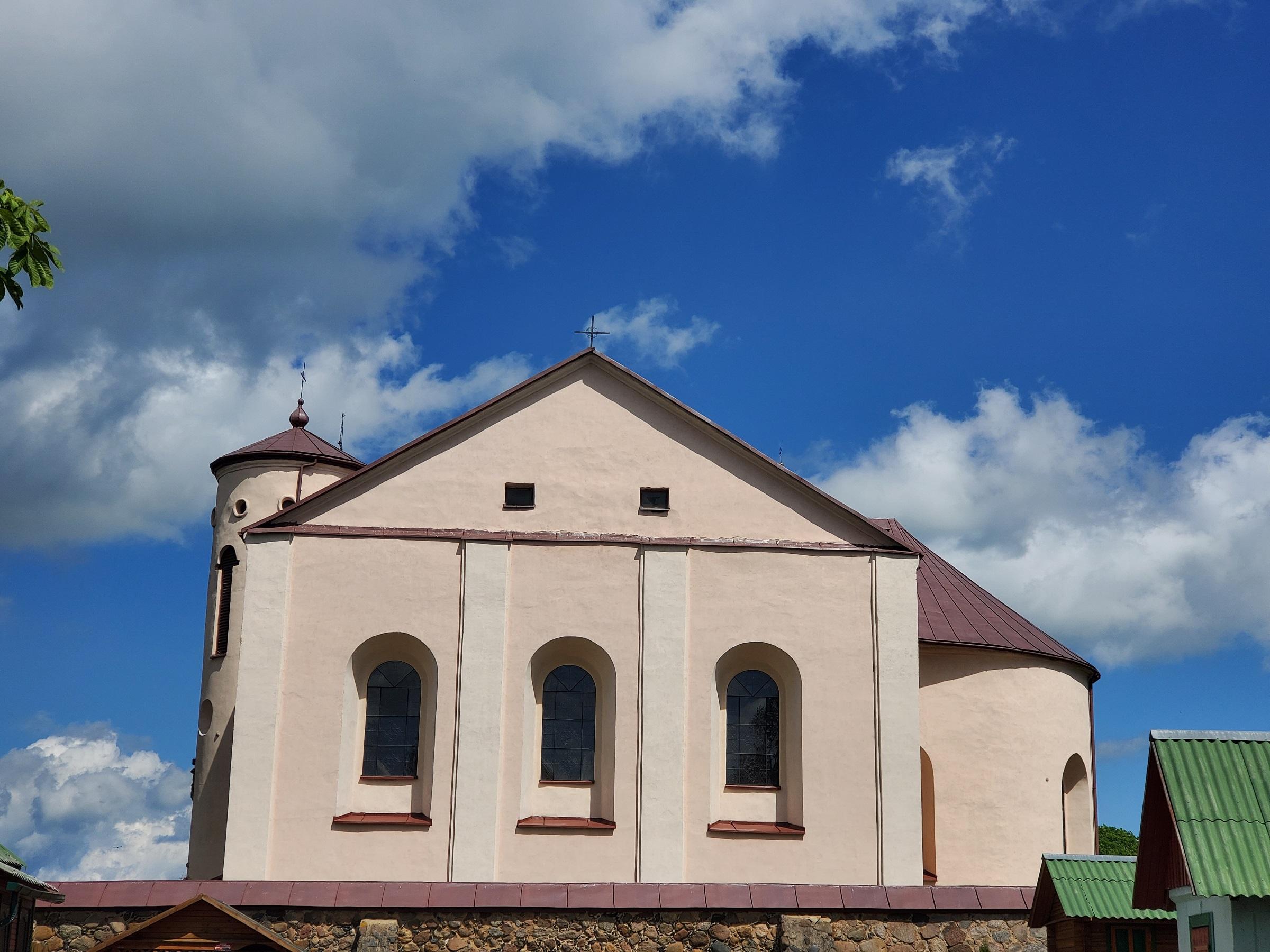 20200606 120106 - Костел Св. Иоанна Крестителя в агрогородке Камаи