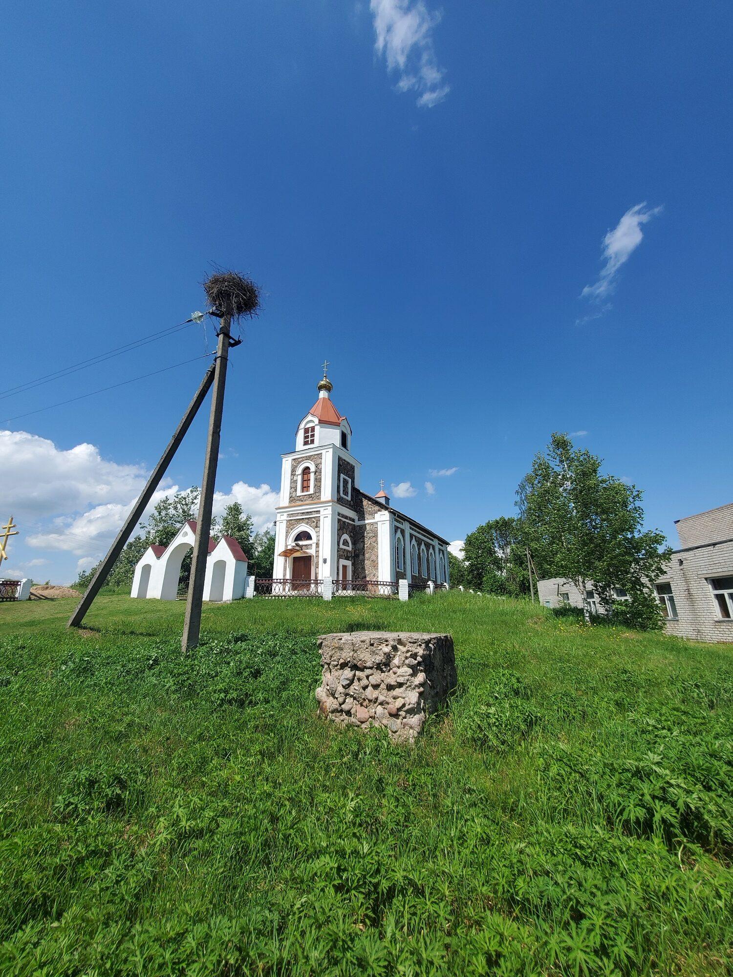 20200606 140718 rotated - Храм Рождества Иоанна Предтечи в деревне Груздово