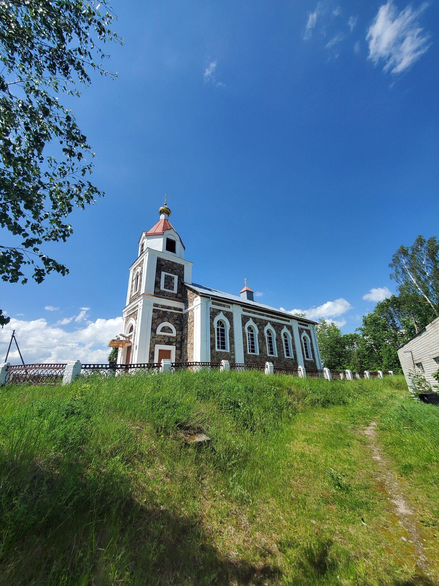 20200606 140803 rotated - Храм Рождества Иоанна Предтечи в деревне Груздово