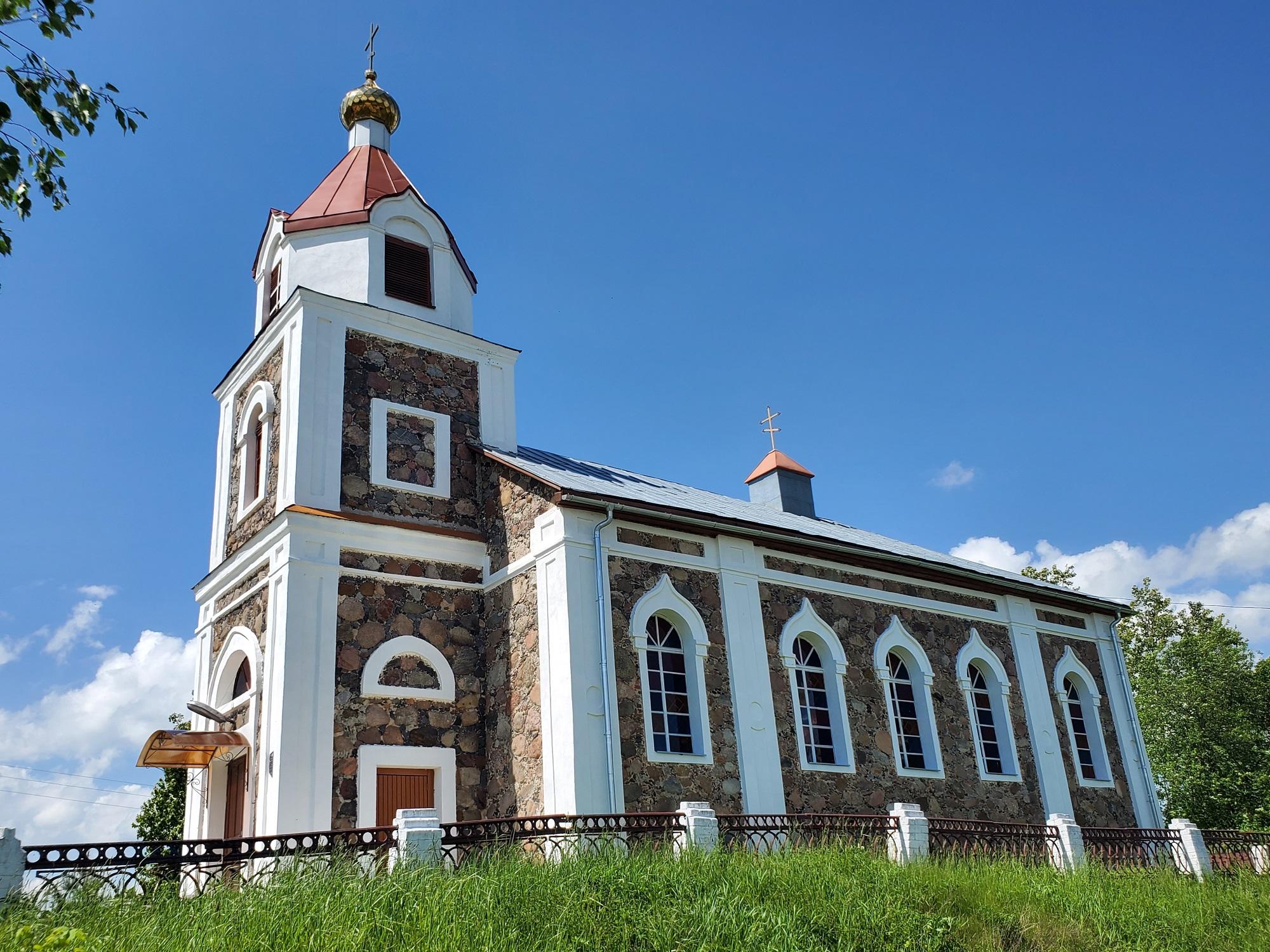 20200606 140836 - Храм Рождества Иоанна Предтечи в деревне Груздово
