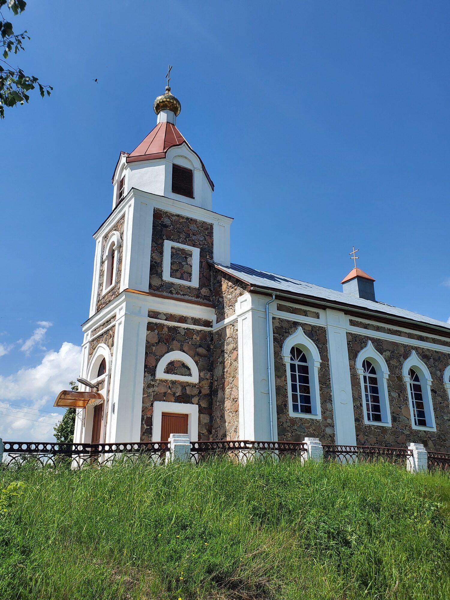 20200606 140841 rotated - Храм Рождества Иоанна Предтечи в деревне Груздово