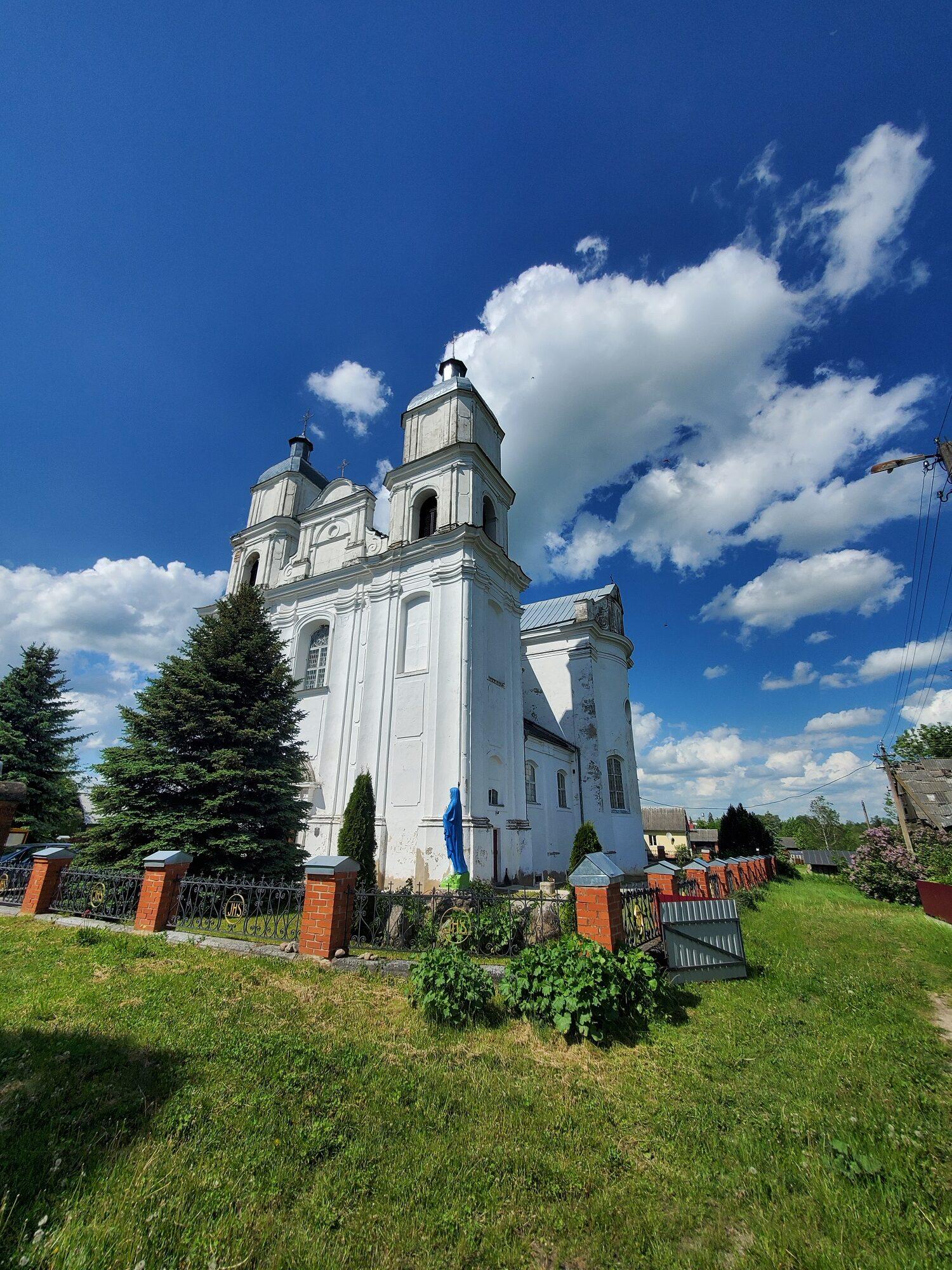 20200606 151351 rotated - Костел Святой Троицы в деревне Дуниловичи