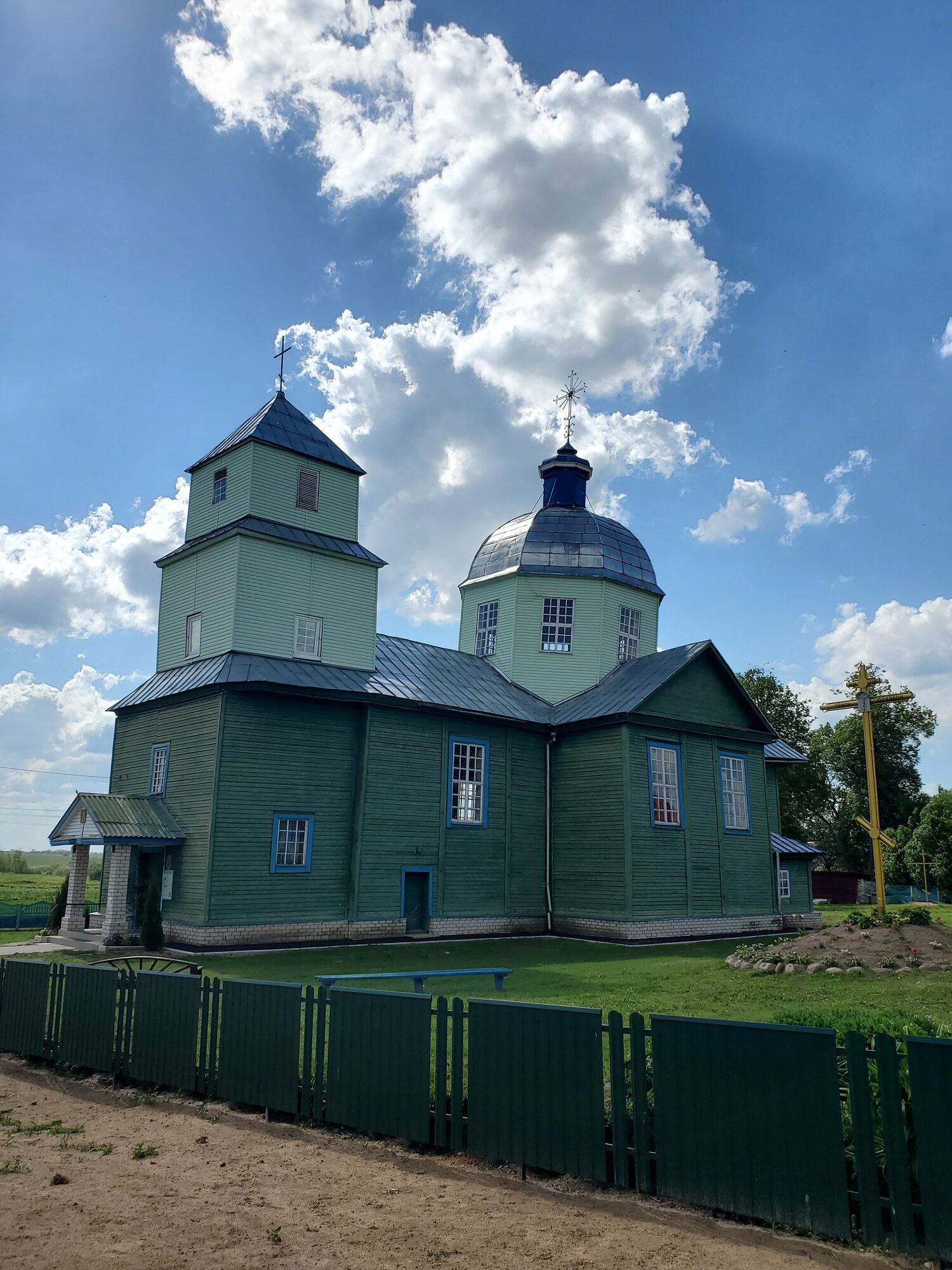 20200606 160957 rotated - Спасо-Преображенская церковь в Порплище