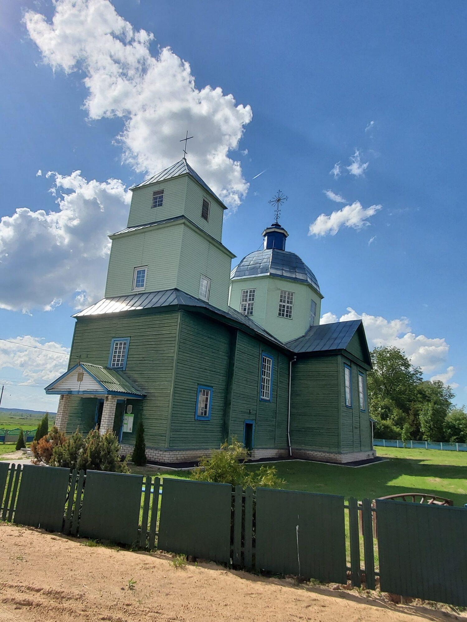 20200606 161023 rotated - Спасо-Преображенская церковь в Порплище