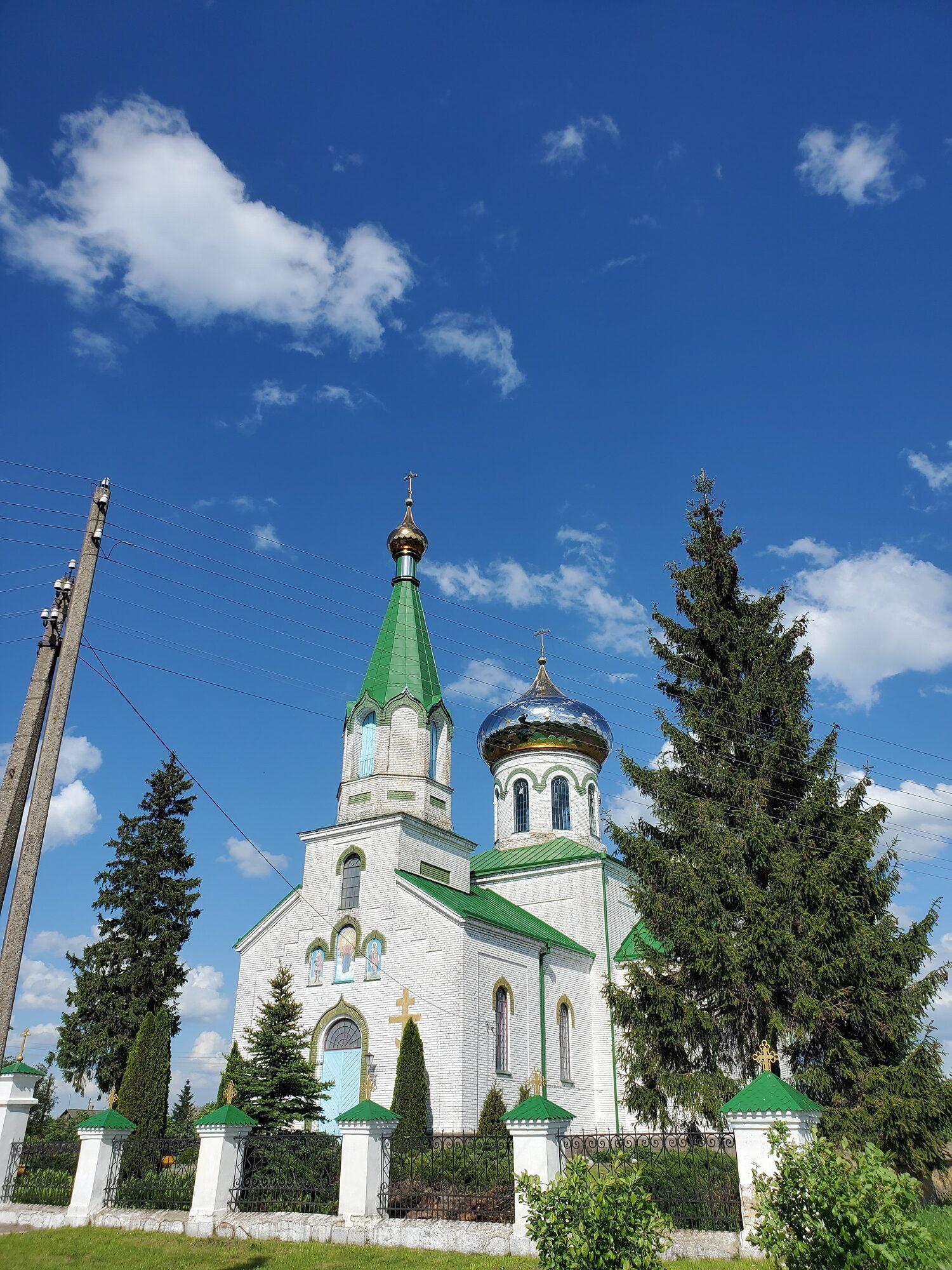 20200606 163507 rotated - Церковь Святого Георгия Победоносца в Ситцах