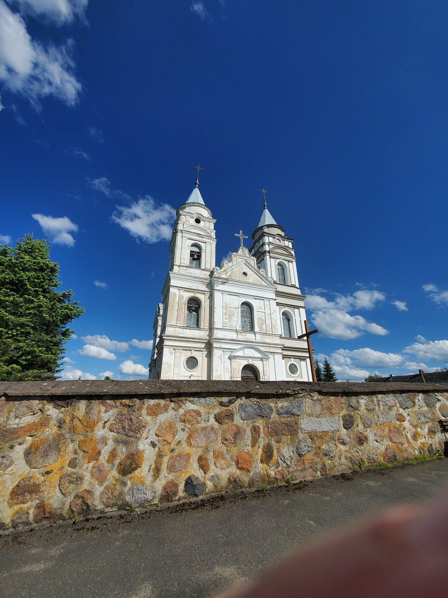 20200606 164650 rotated - Костел Пресвятой Девы Марии в деревне Парафьяново