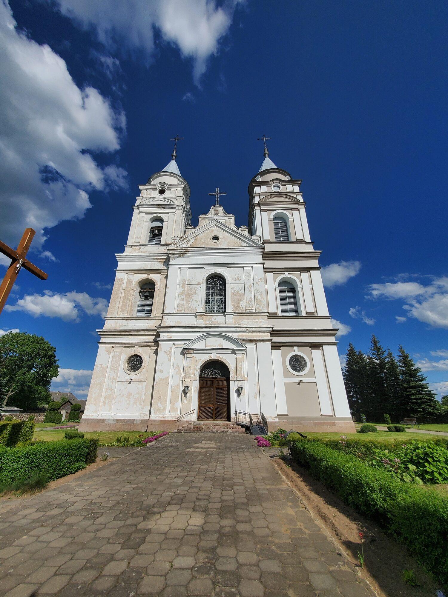 20200606 164727 rotated - Костел Пресвятой Девы Марии в деревне Парафьяново