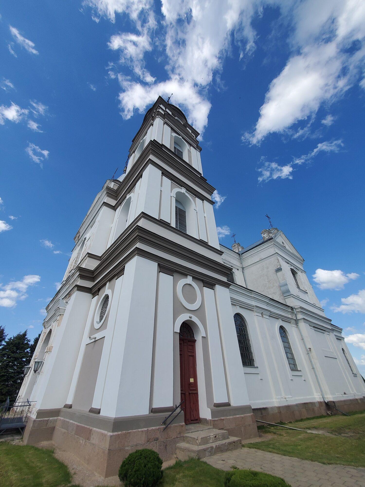 20200606 165227 rotated - Костел Пресвятой Девы Марии в деревне Парафьяново