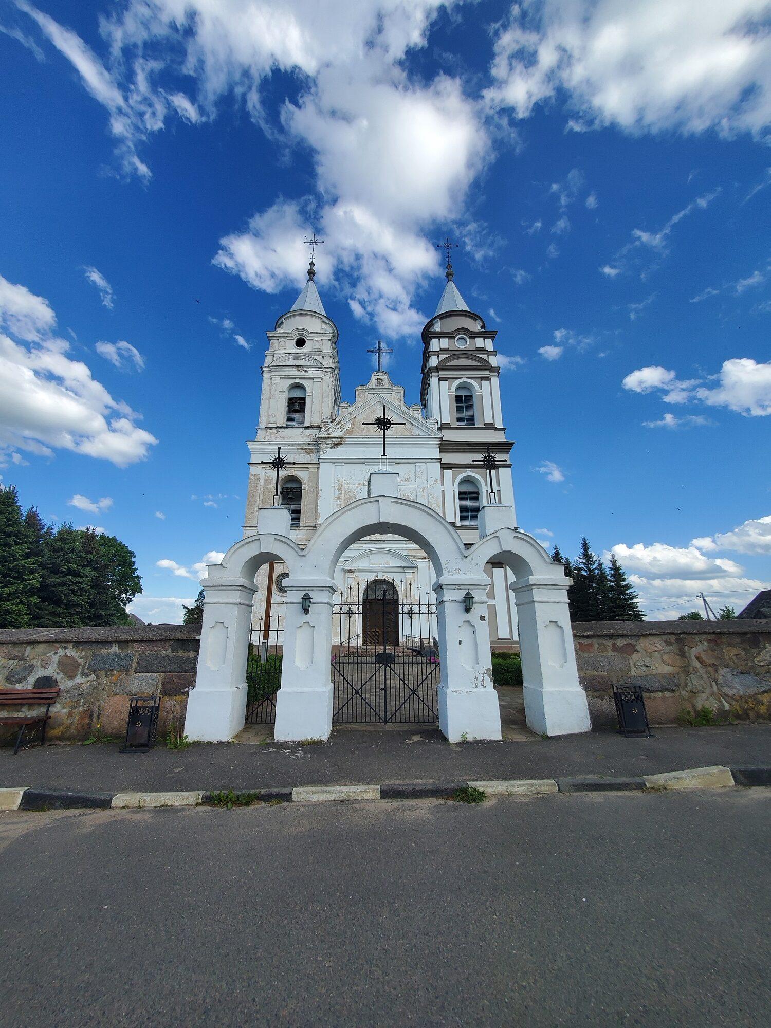20200606 165337 rotated - Костел Пресвятой Девы Марии в деревне Парафьяново