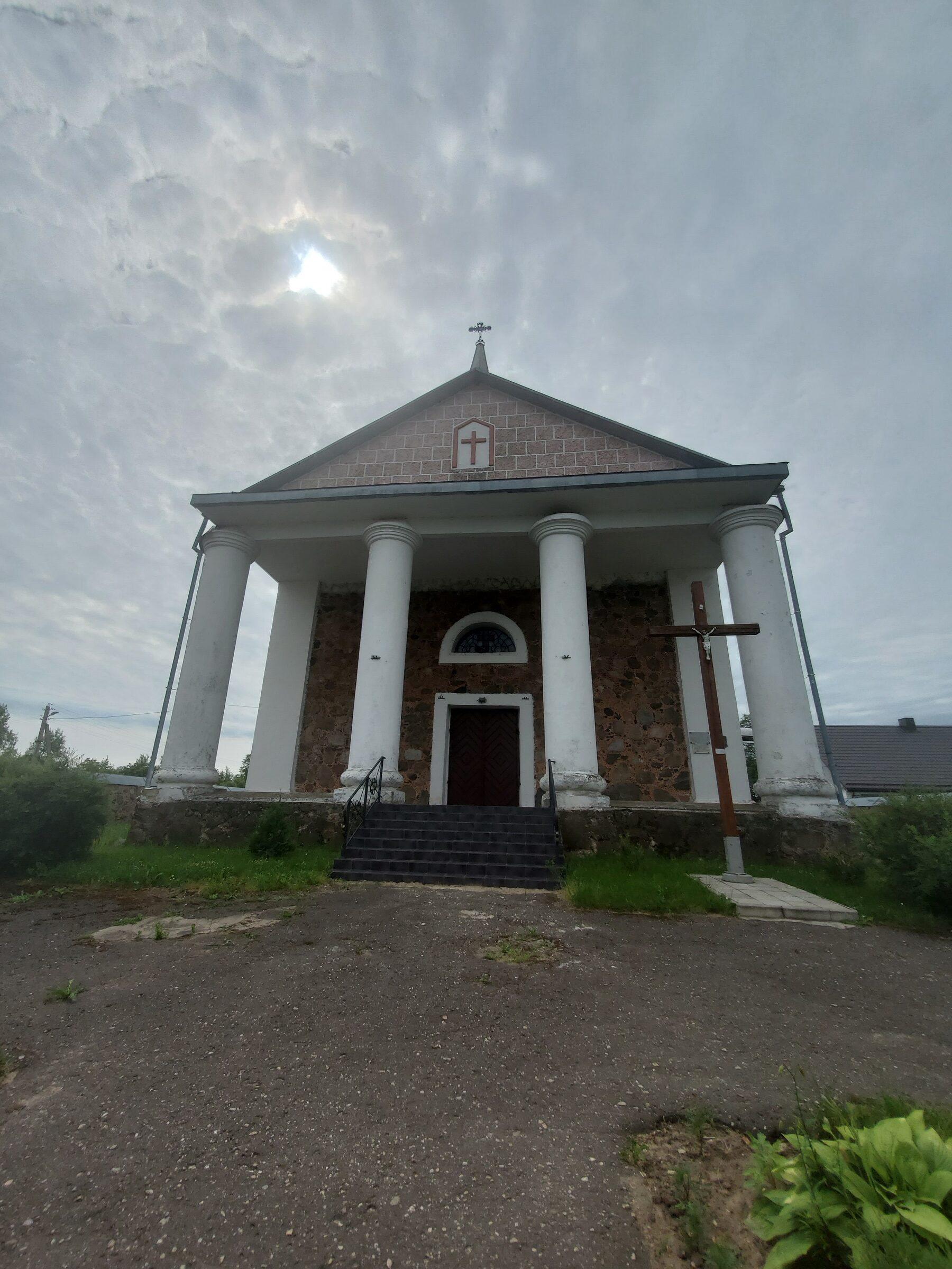 20200703 113417 rotated - Костел Вознесения Девы Марии в Дерковщине