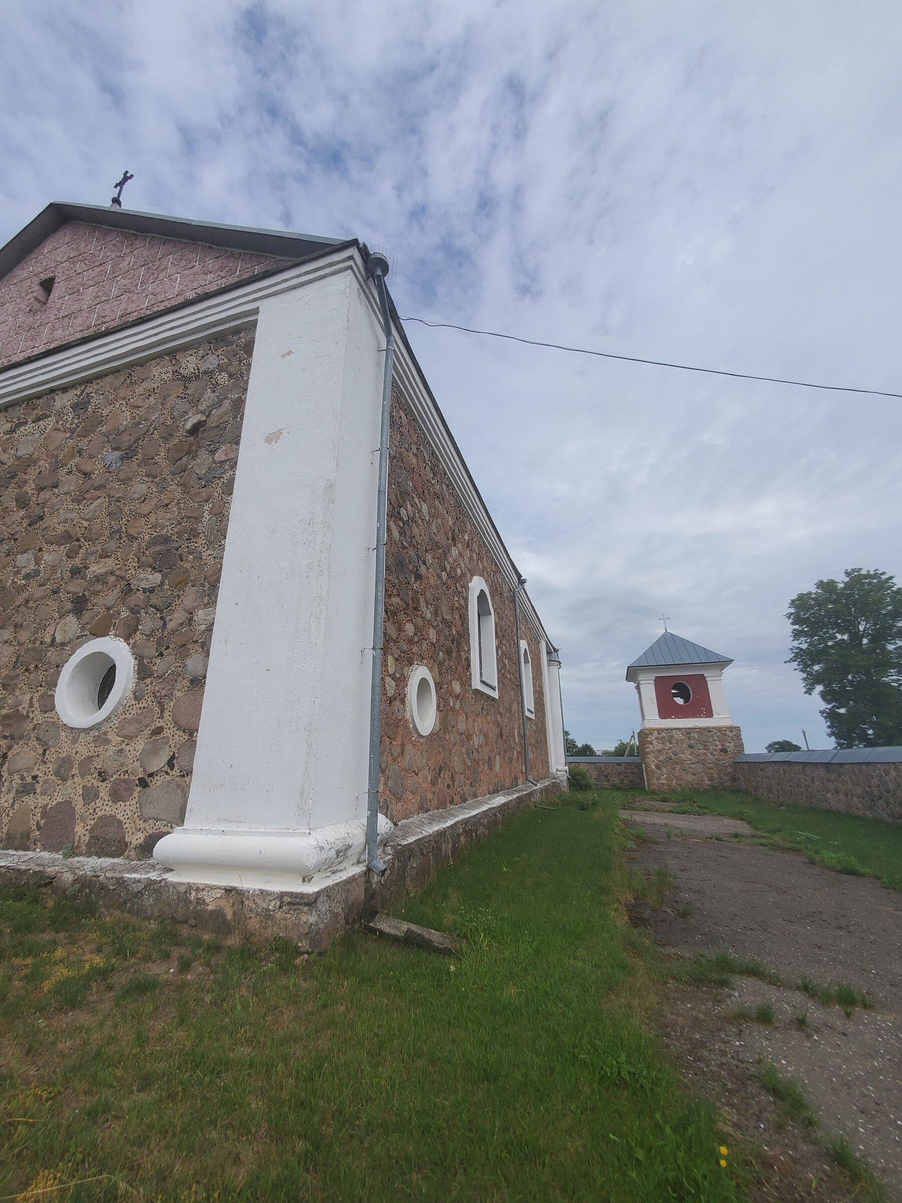 20200703 113655 rotated - Костел Вознесения Девы Марии в Дерковщине