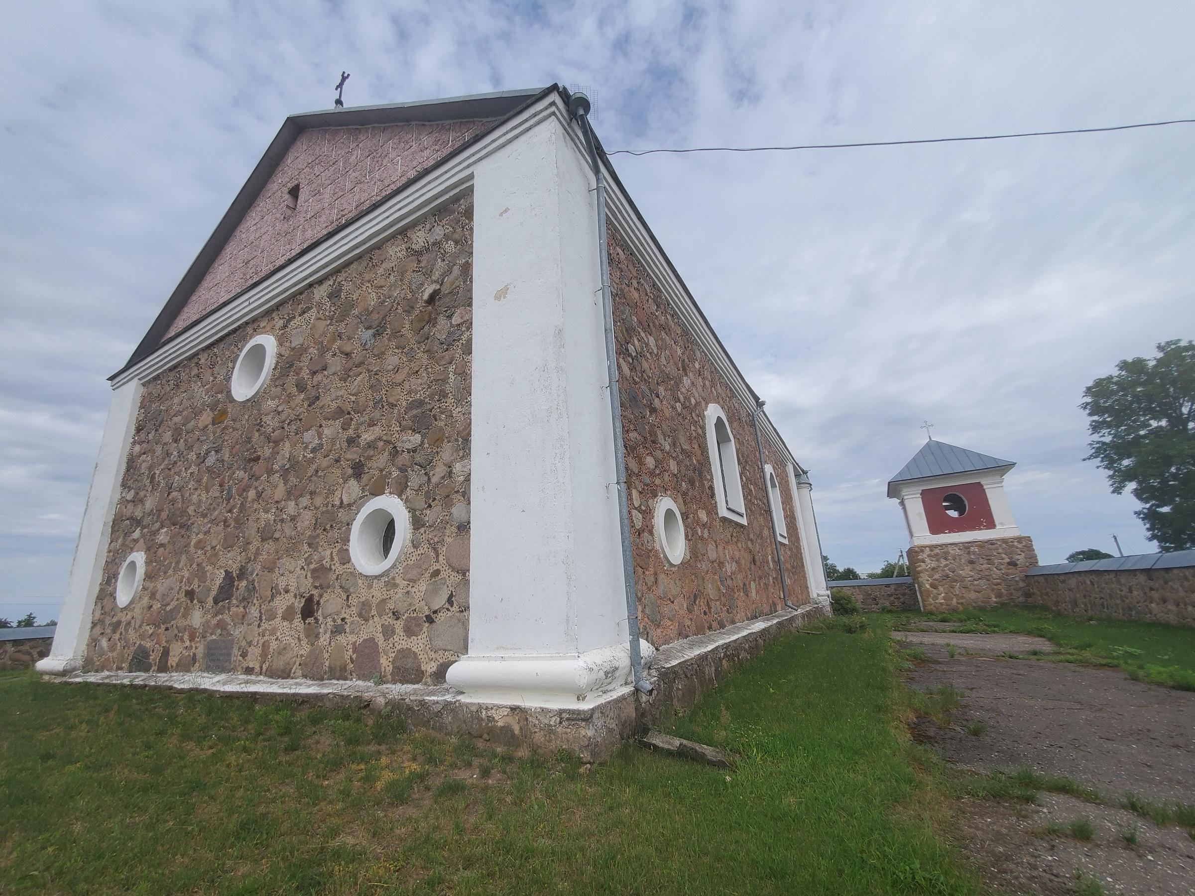 20200703 113700 - Костел Вознесения Девы Марии в Дерковщине