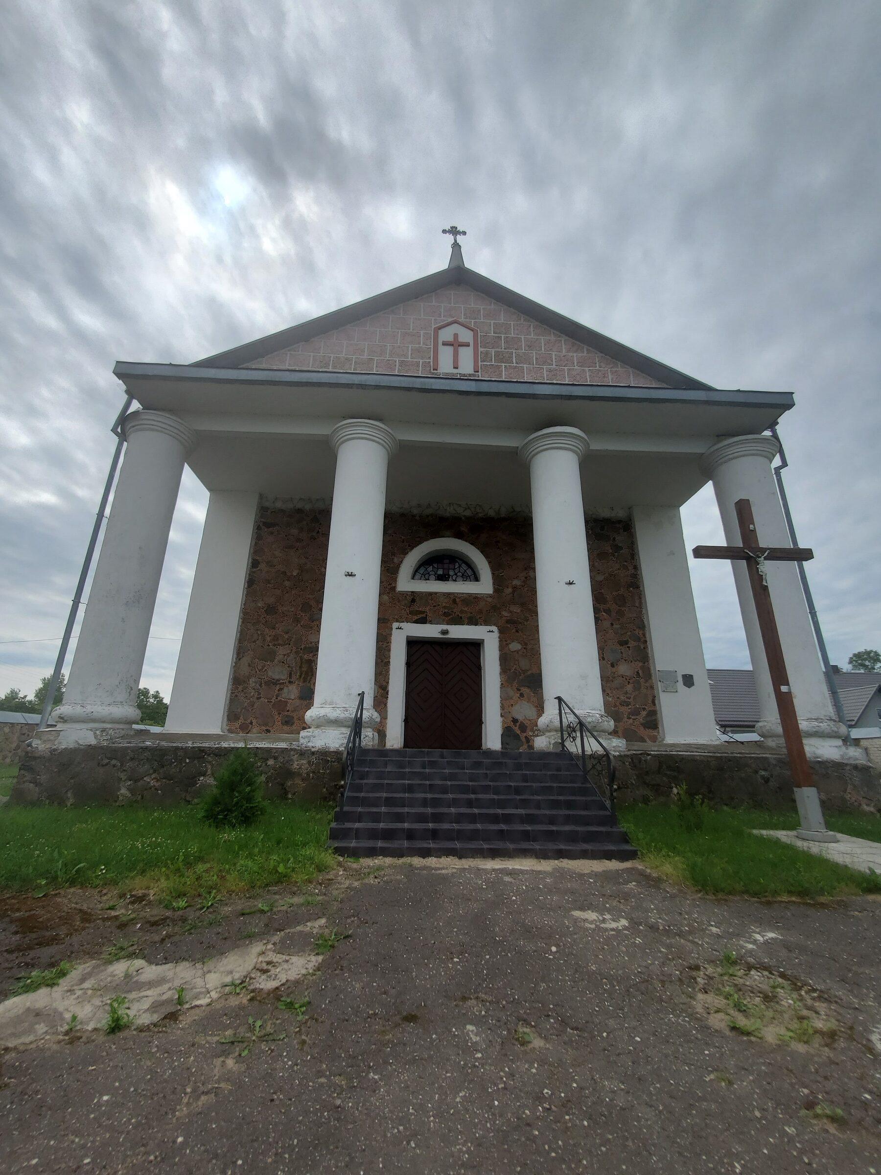 20200703 113844 rotated - Костел Вознесения Девы Марии в Дерковщине