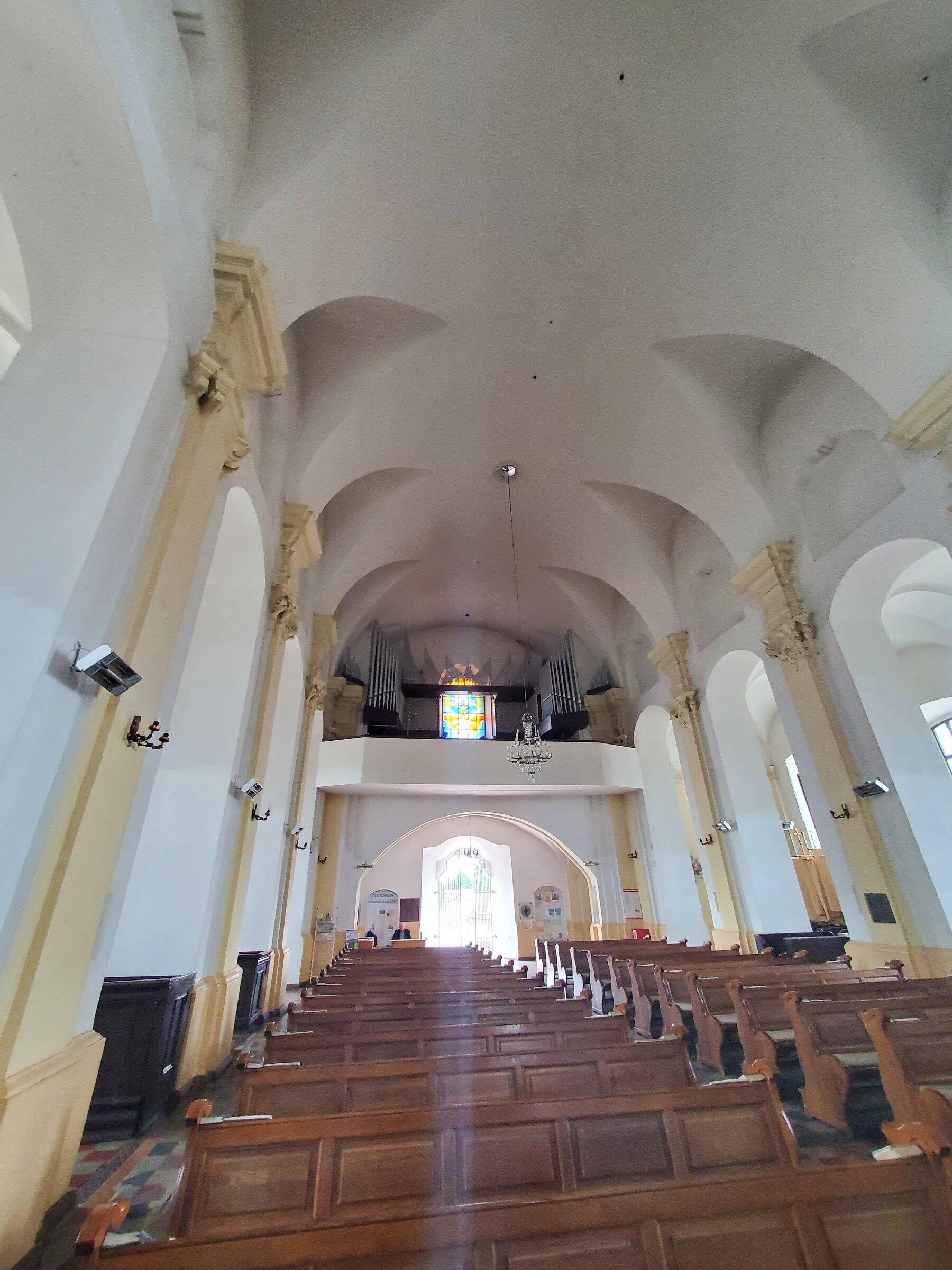 20200703 123344 1 rotated - Костел Святой Троицы в Глубоком