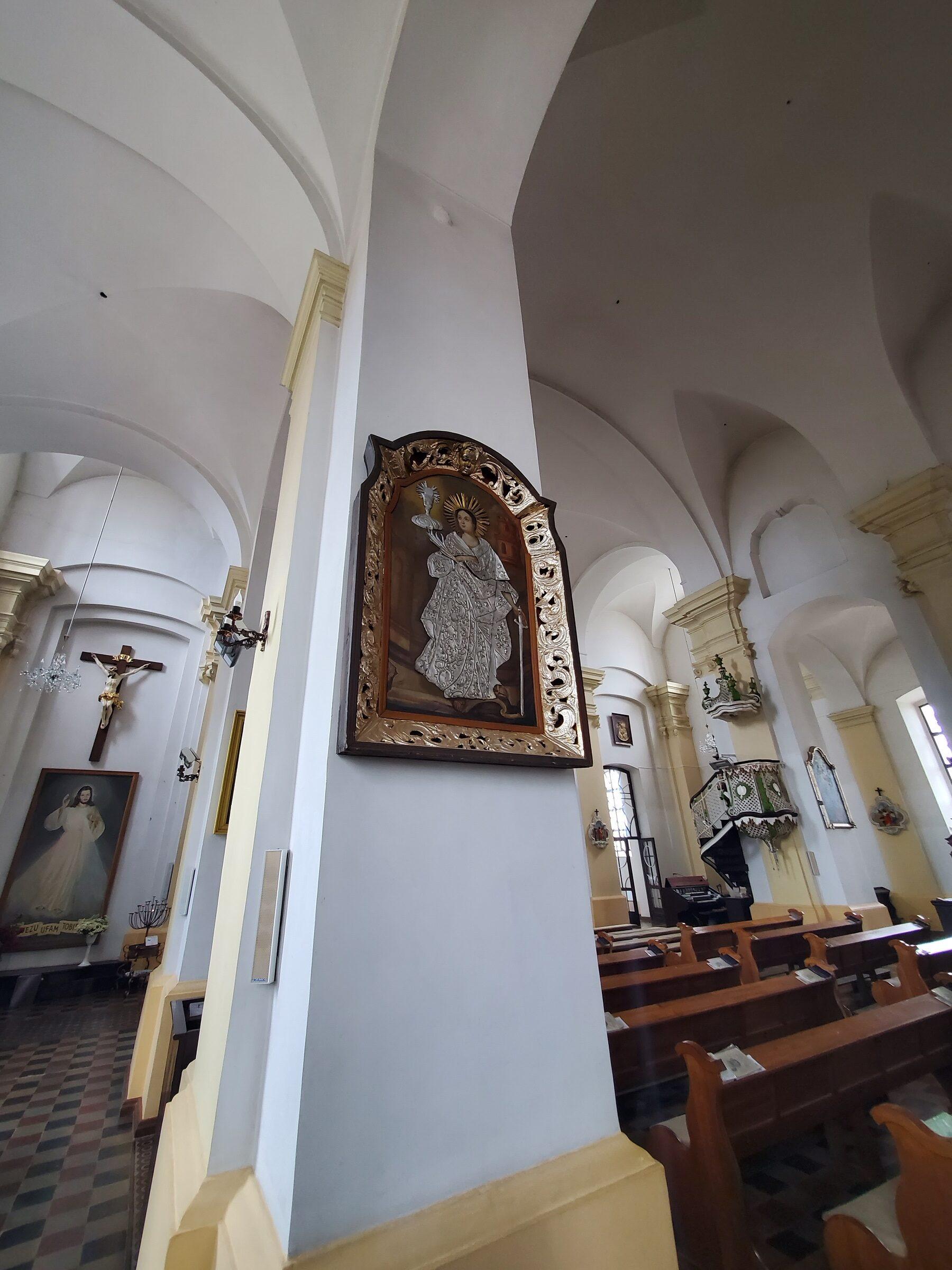 20200703 123613 rotated - Костел Святой Троицы в Глубоком