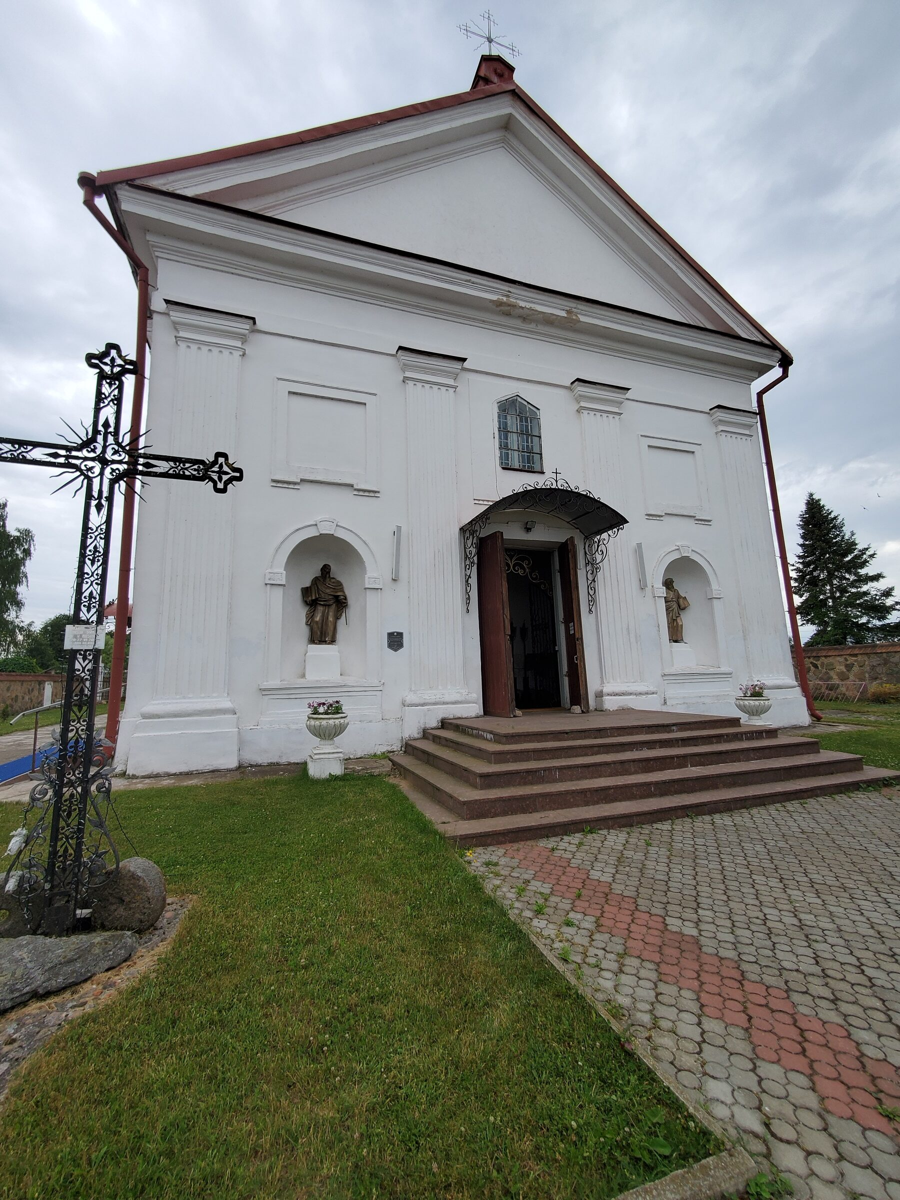 20200703 142753 rotated - Костел Святой Анны в деревне Мосар