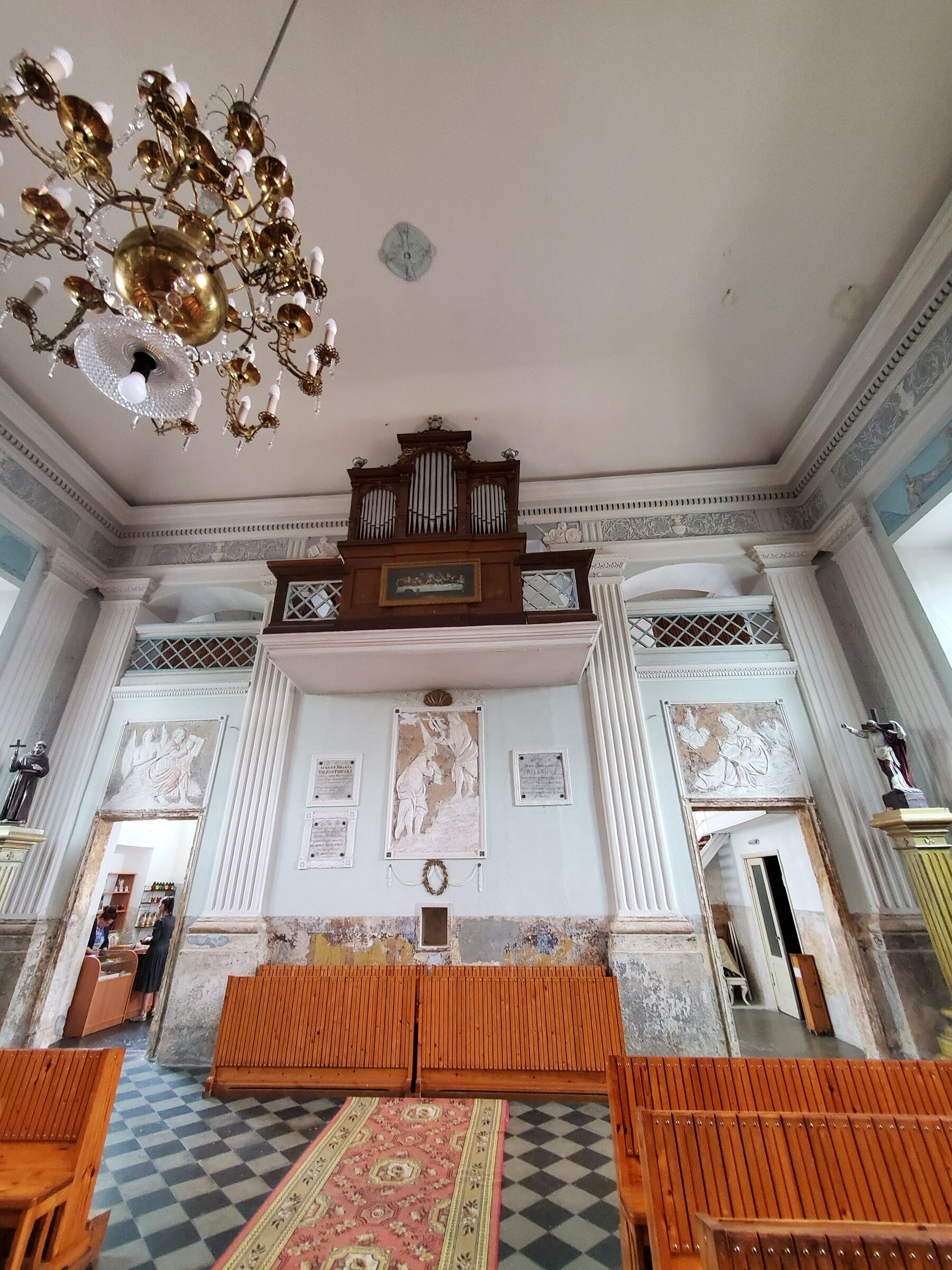 20200703 142844 rotated - Костел Святой Анны в деревне Мосар