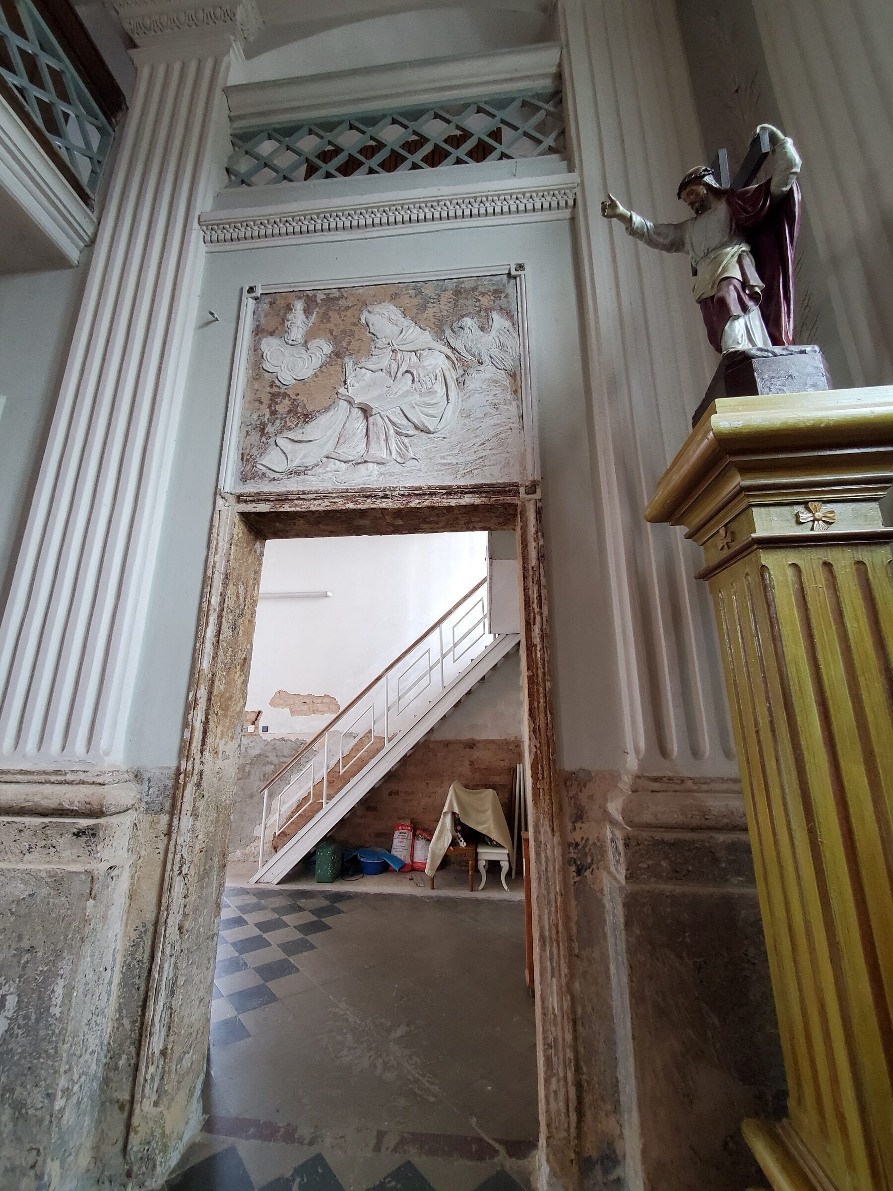 20200703 143007 rotated - Костел Святой Анны в деревне Мосар