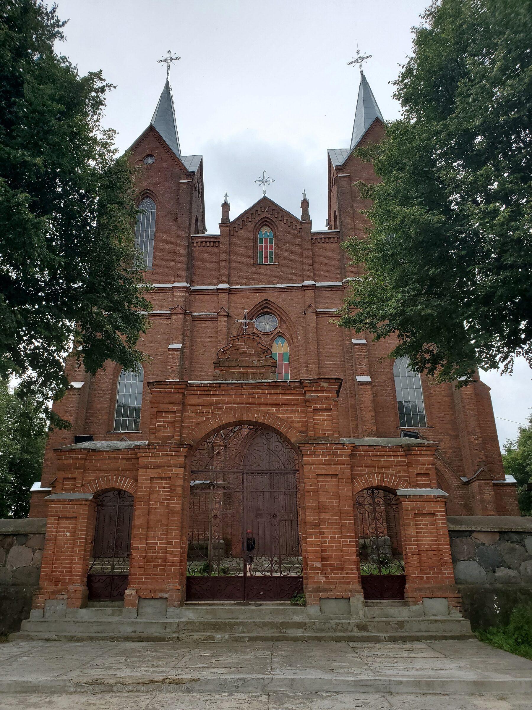 20200705 115308 1 rotated - Костел Девы Марии в деревне Мнюто