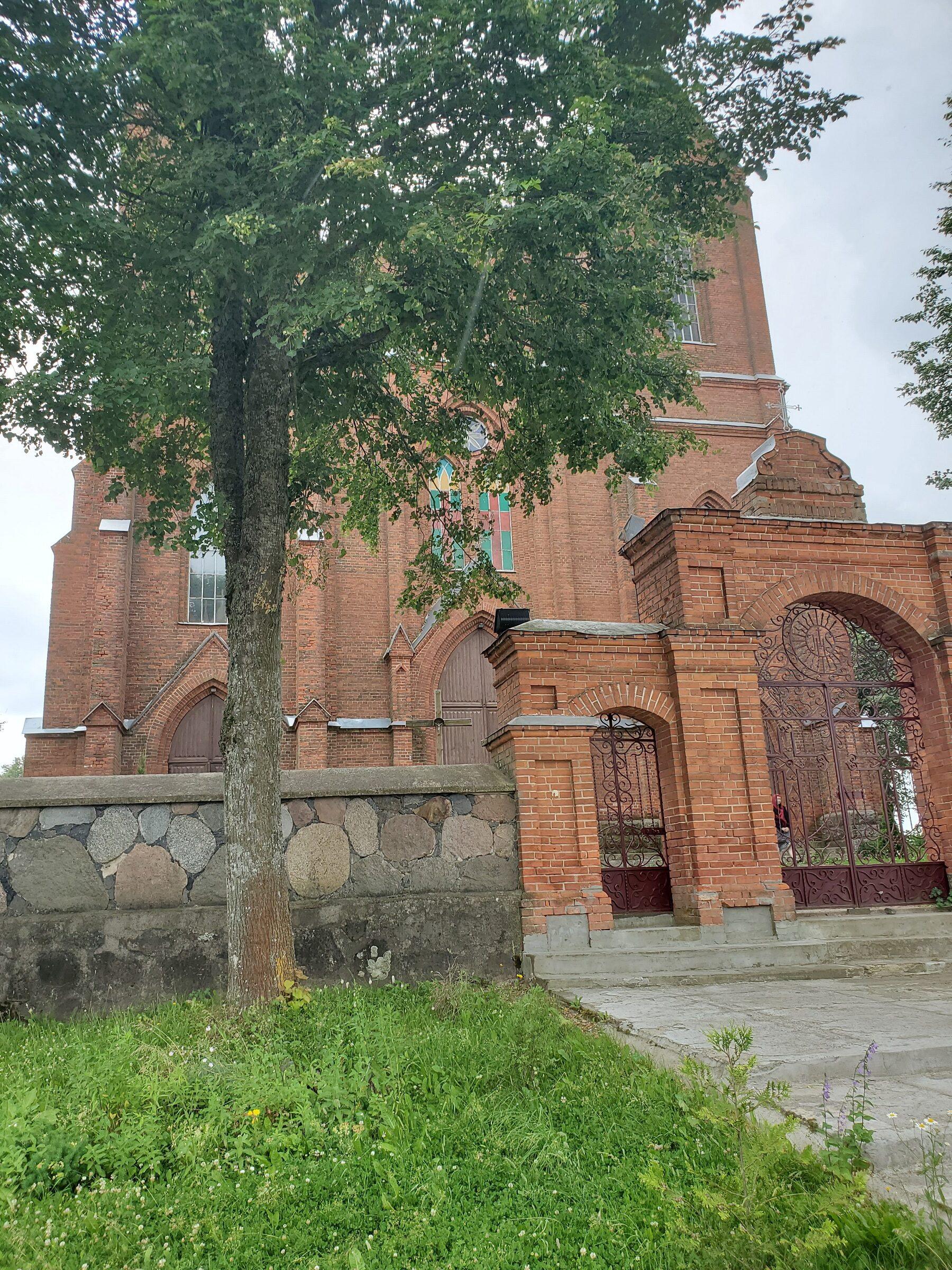20200705 115323 rotated - Костел Девы Марии в деревне Мнюто