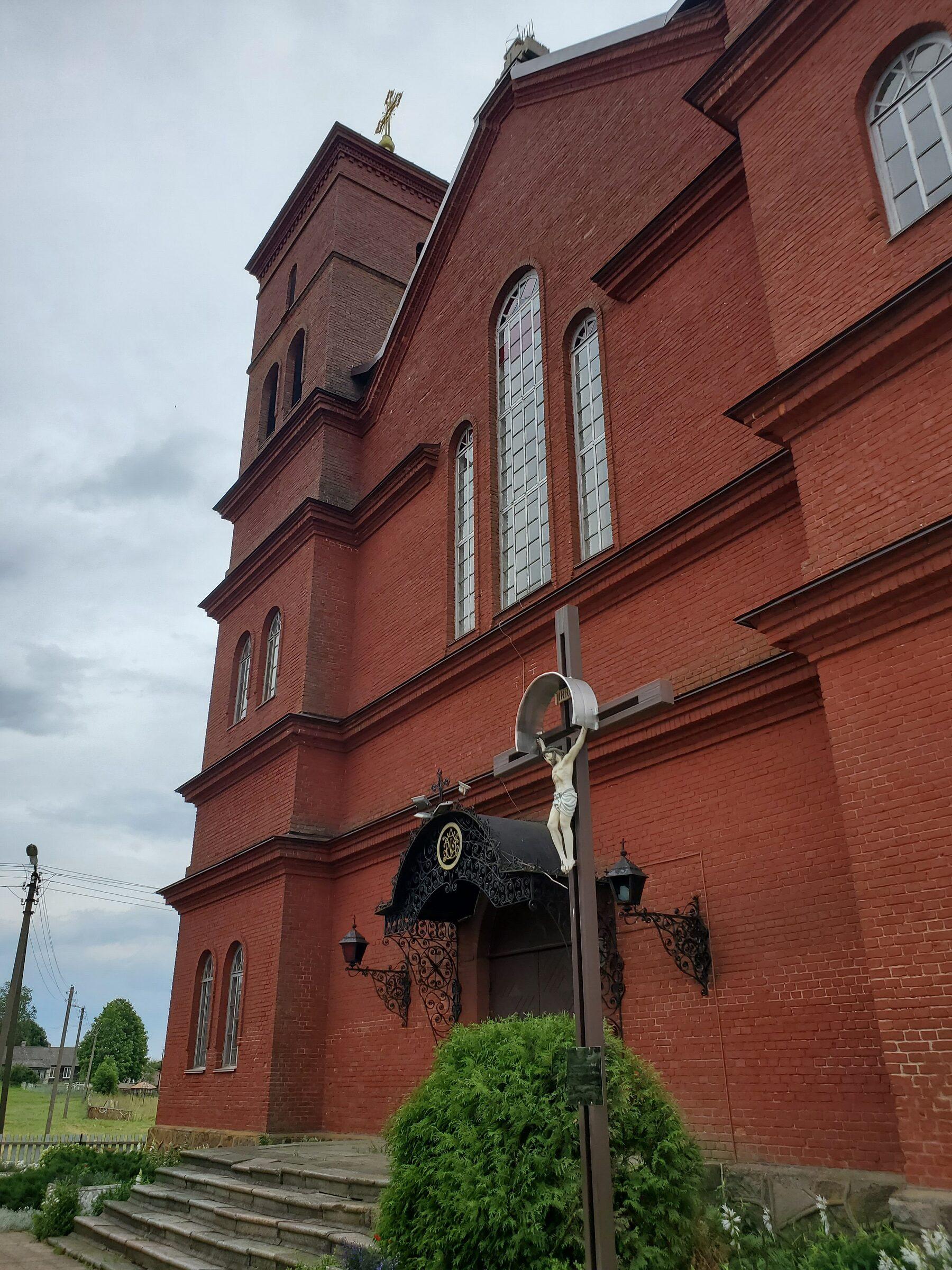 20200705 124101 rotated - Костёл Успения Пресвятой Девы Марии в Прозороках