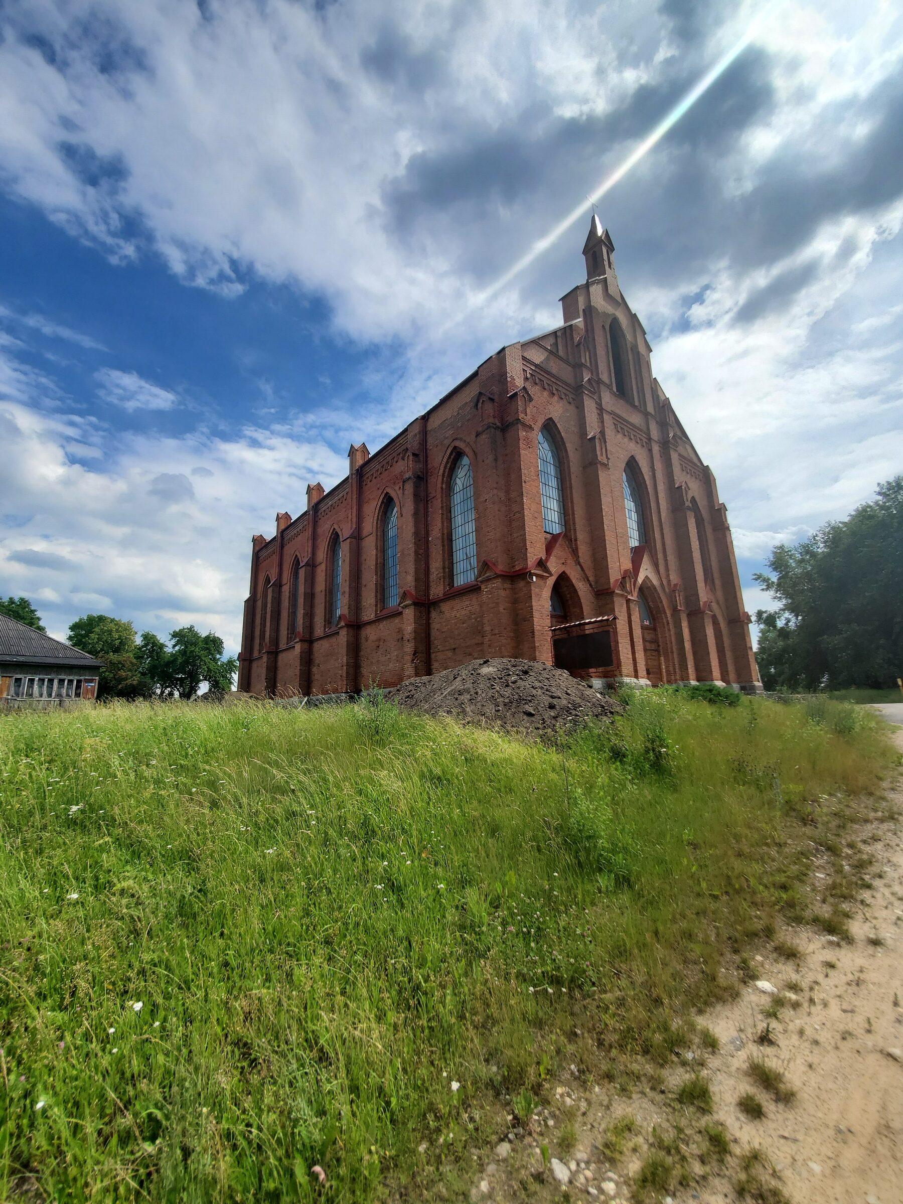 20200705 141722 rotated - Костел Святого Лаврентия в Ушачах