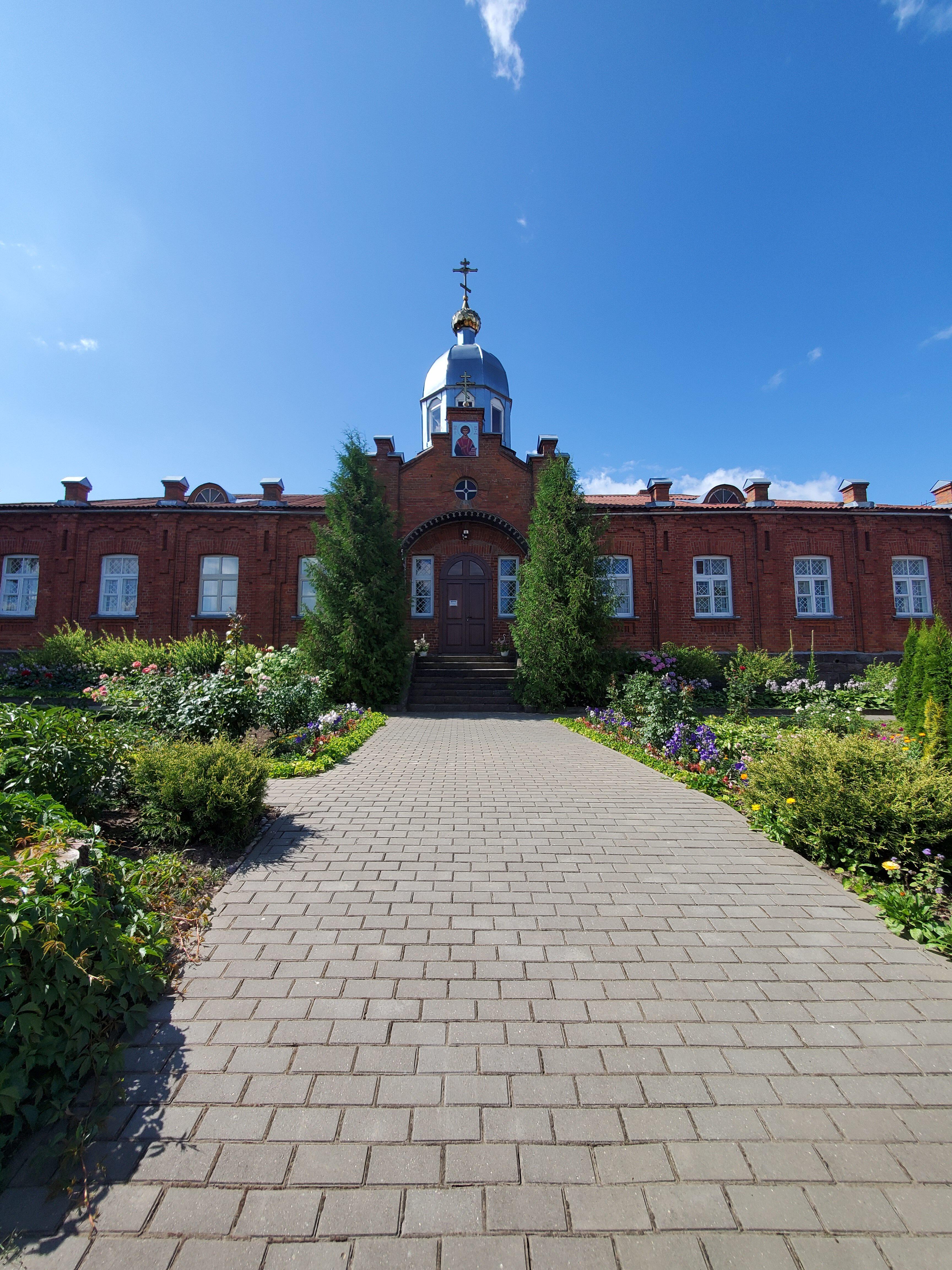 20200801 113430 rotated - Свято-Пантелеимоновский женский монастырь в Браславе