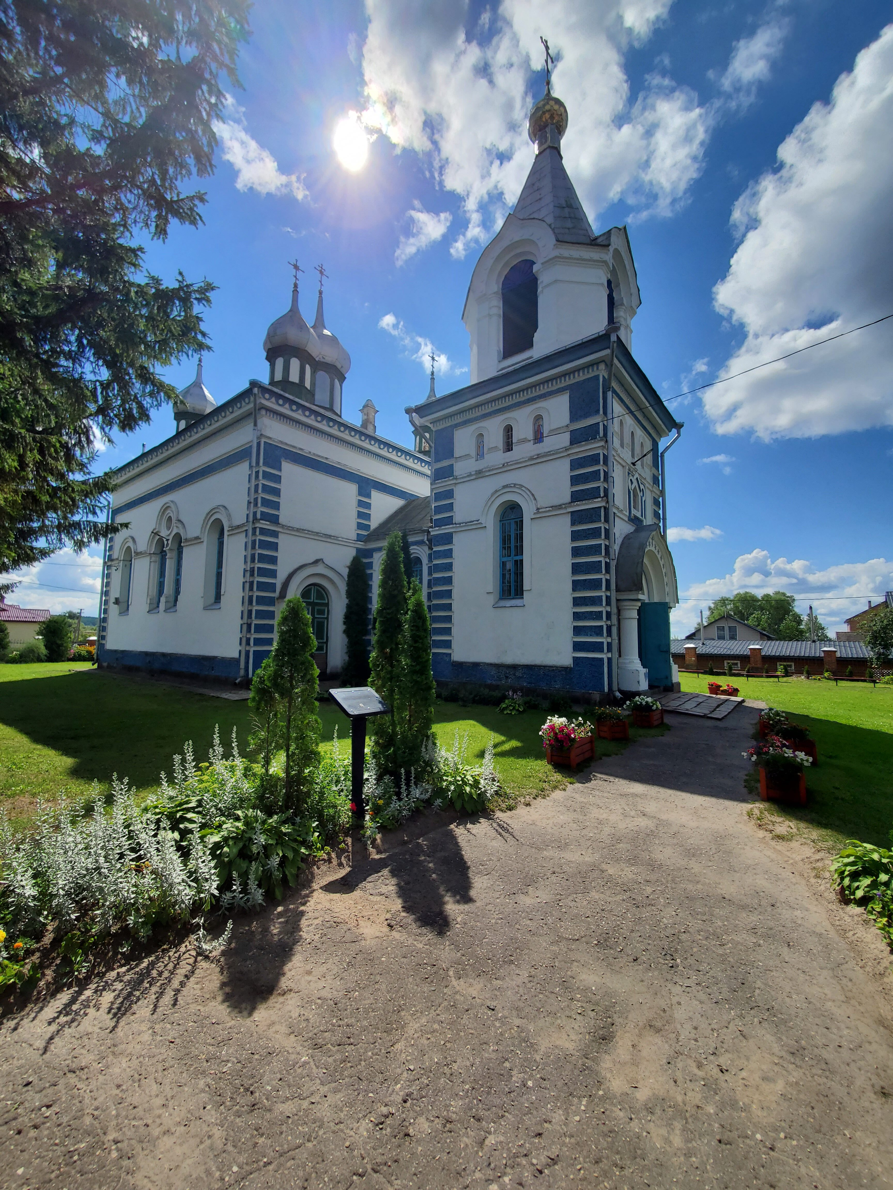 20200801 114407 rotated - Церковь Успения Пресвятой Богородицы в Браславе