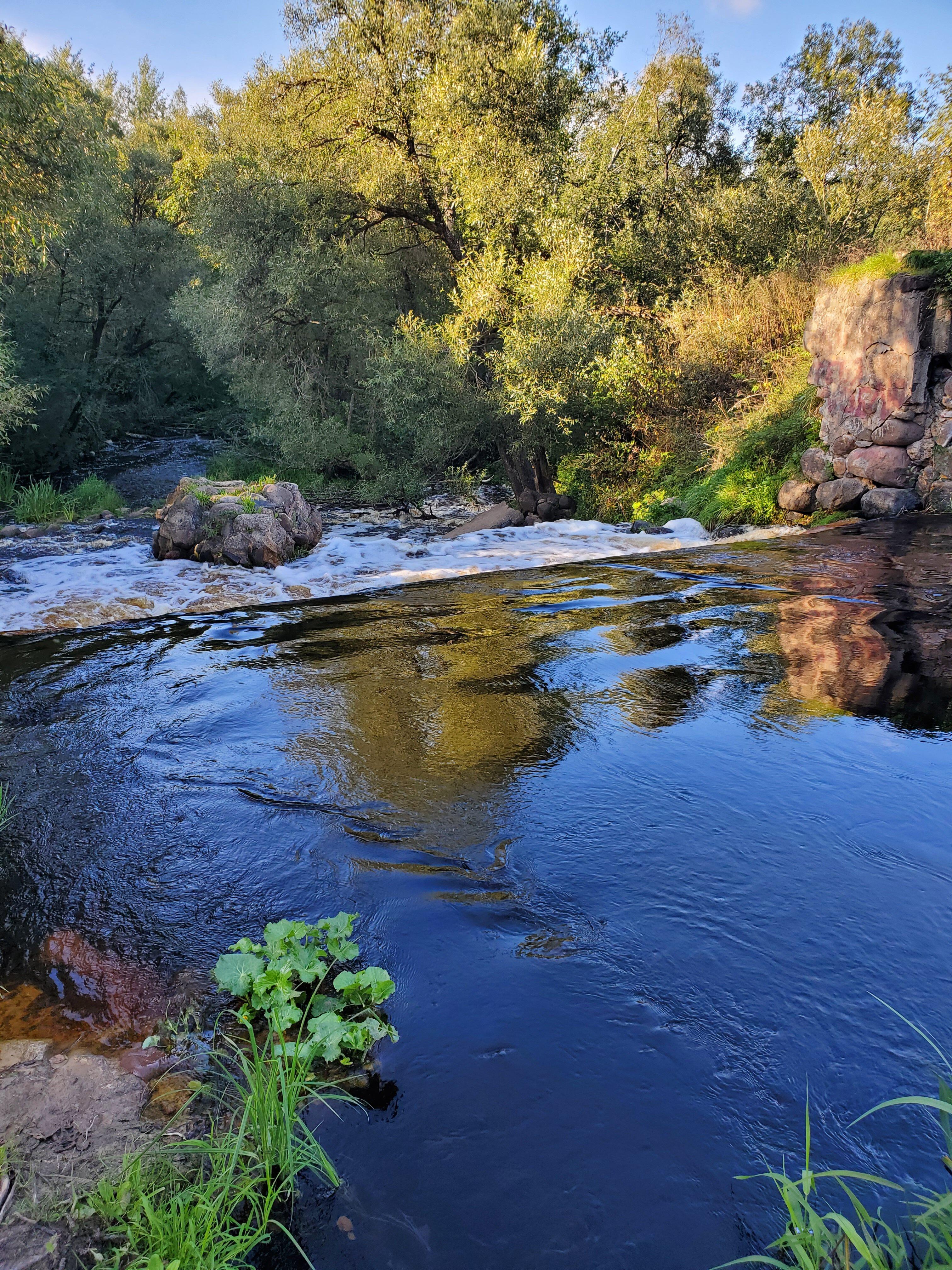 20210904 173435 rotated - Водопад на реке Вята