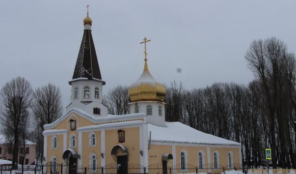 211391 603x354 2 - Воскресенская церковь в Кричеве