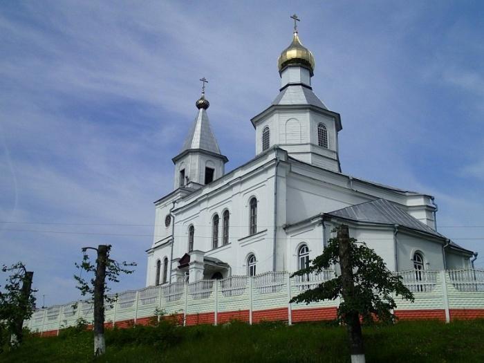 28 big - Свято-Николаевская церковь в Логойске