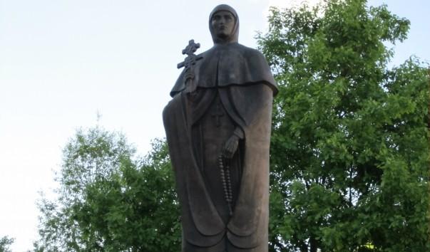 33716 603x354 2 - Памятник Евфросинии Полоцкой в Полоцке