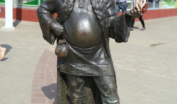 376333 603x354 2 - Скульптура «Полоцкий купец»