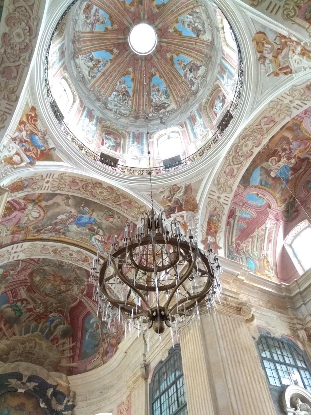 Мирский замок - роспись