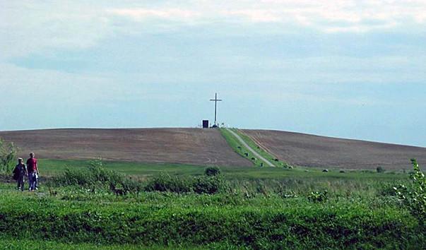7276 603x354 1 - Самый высокий крест в Беларуси в деревне Мосар