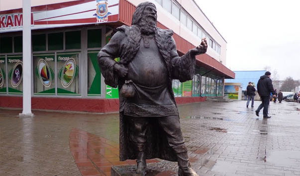 73381 603x354 2 - Скульптура «Полоцкий купец»