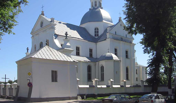 8702 603x354 2 - Иезуитский монастырь с Фарным костелом в Несвиже