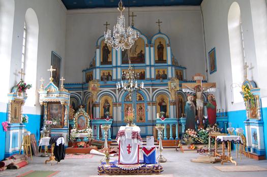 Bogino tserkov 3 - Покровская церковь в Богино