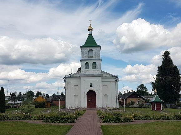 Borovka 1 - Церковь Святой Евфросинии Полоцкой в деревне Боровка